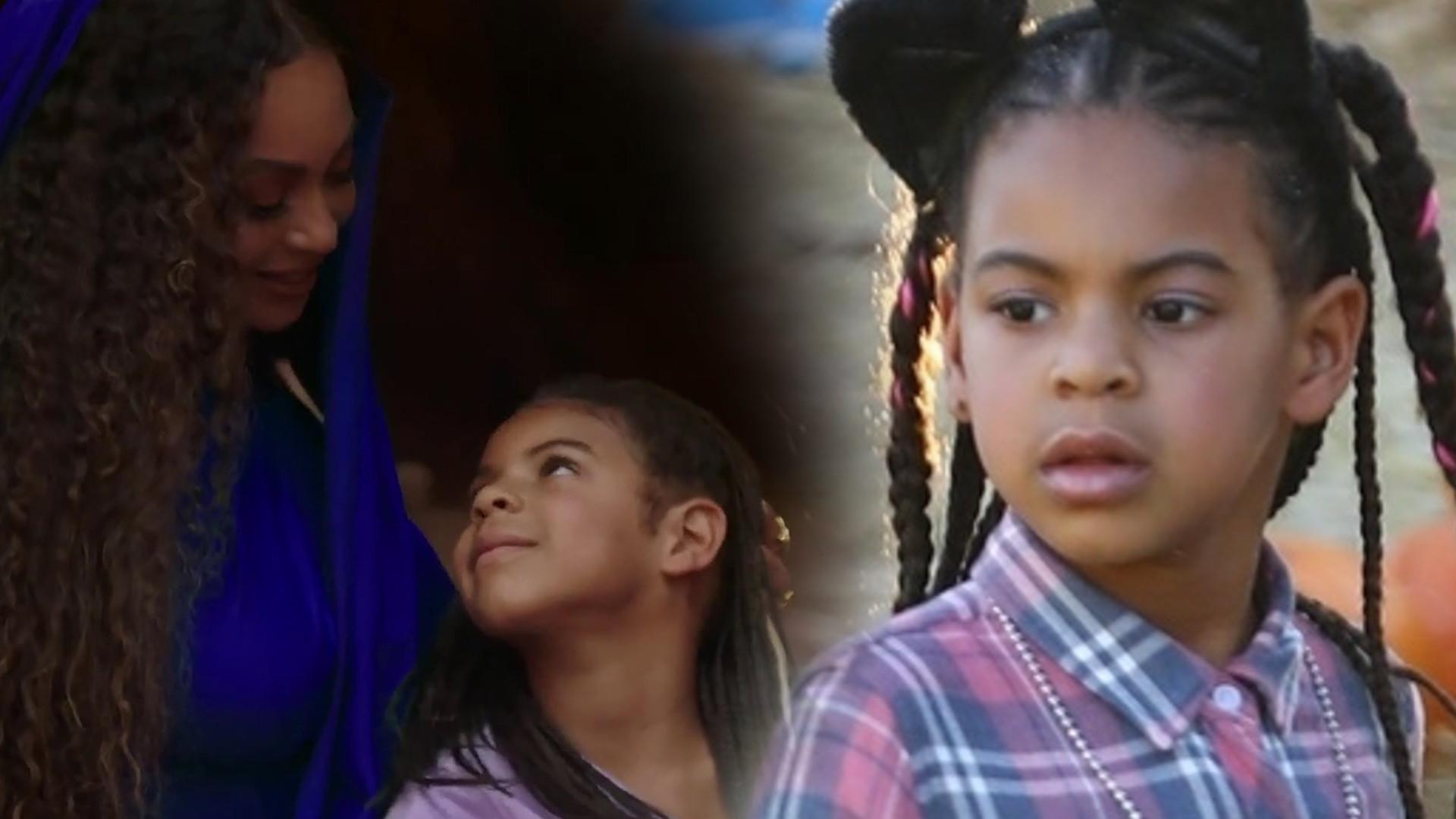 Nagranie z córką Beyonce, Blue Ivy, HITEM sieci. Pokazała je babcia