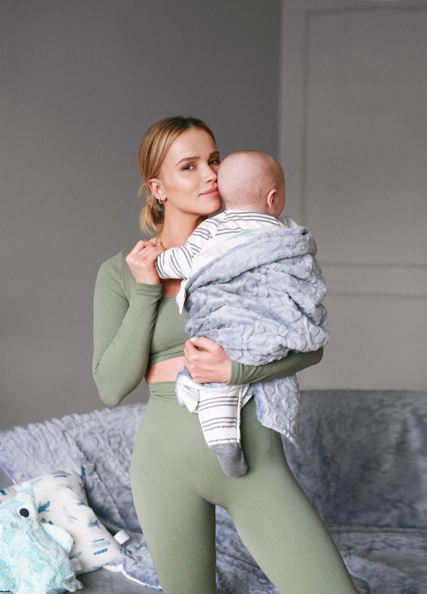 Julia Kuczyńska w kampanii reklamowej z synem, fot. materiały prasowe