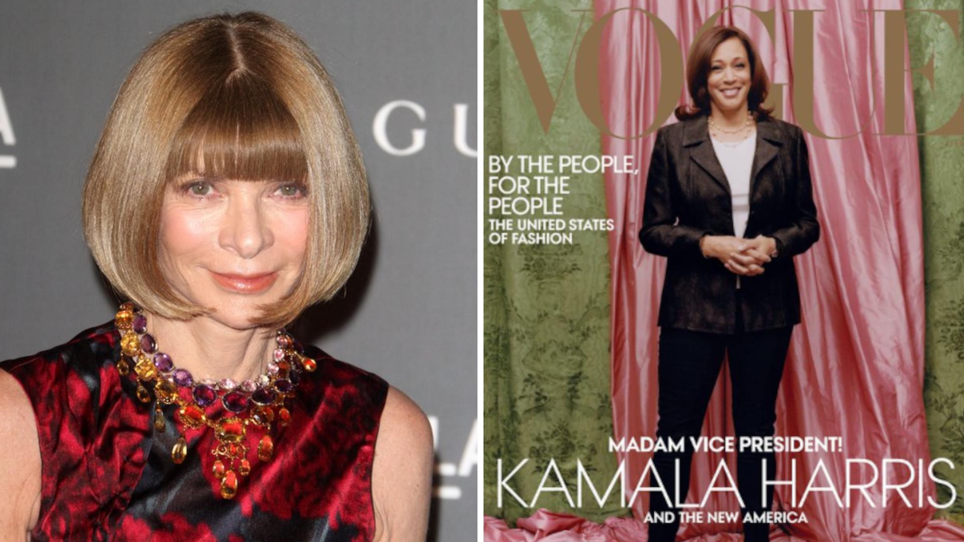 Anna Wintour tłumaczy się z okładki Vogue'a. Chodzi o JEDEN szczegół