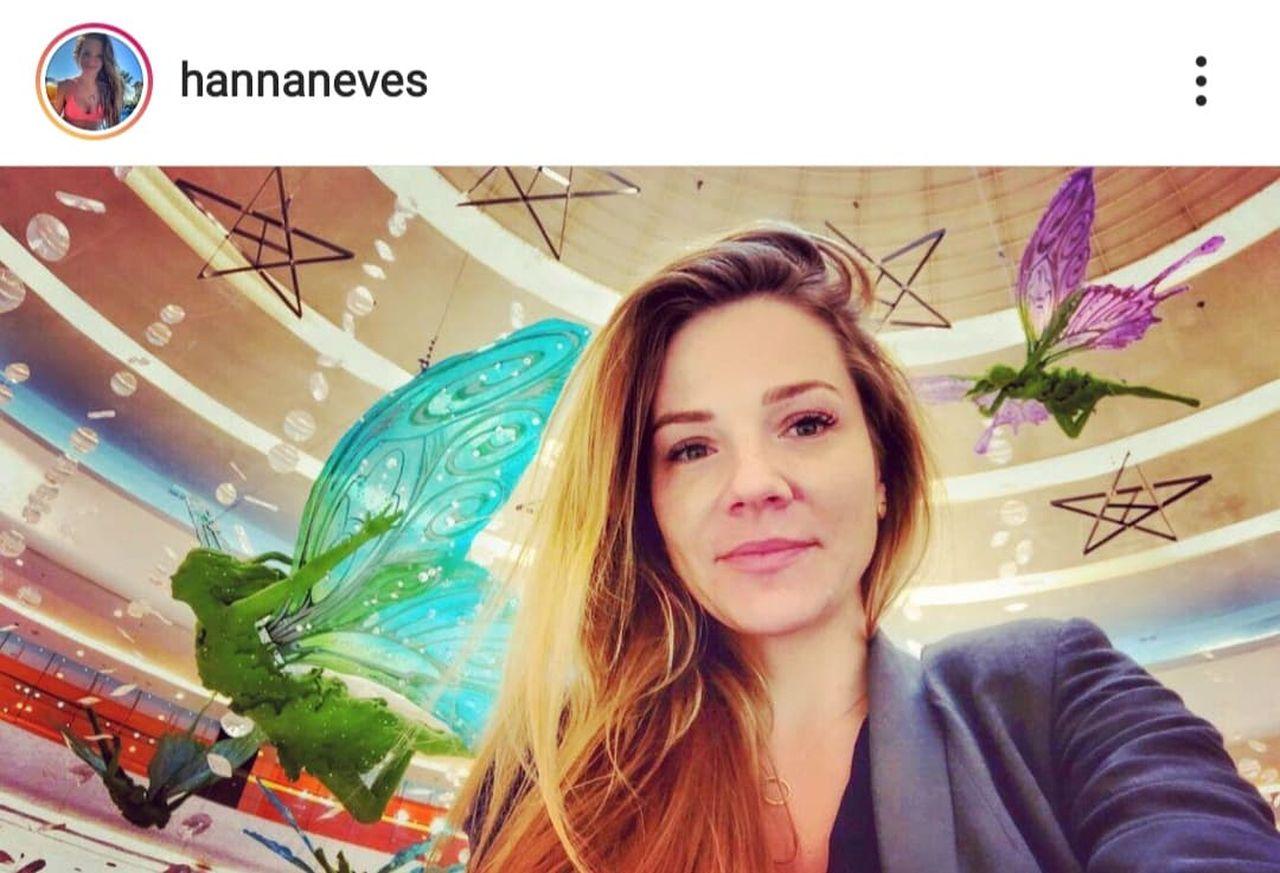 Hanna Zborowska na selfie