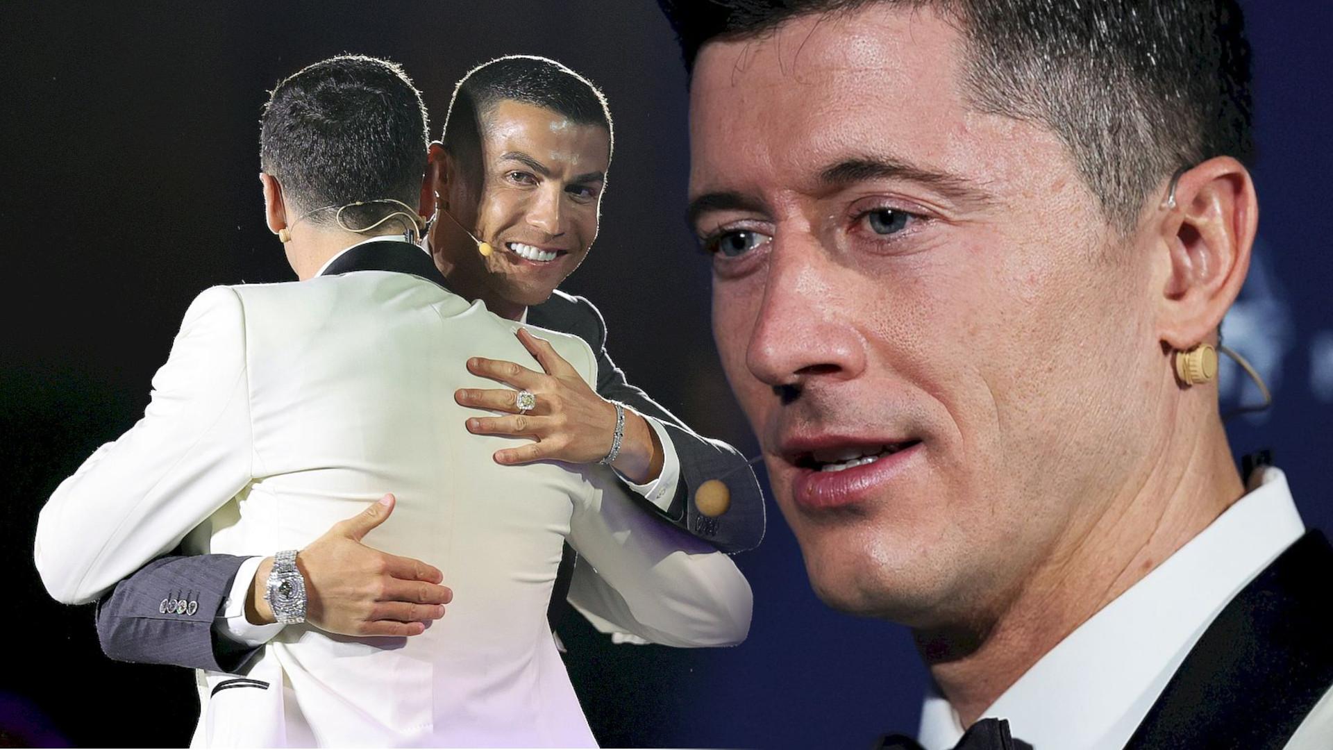 WOW! Robert Lewandowski zdradził o czym rozmawiał z Ronaldo!