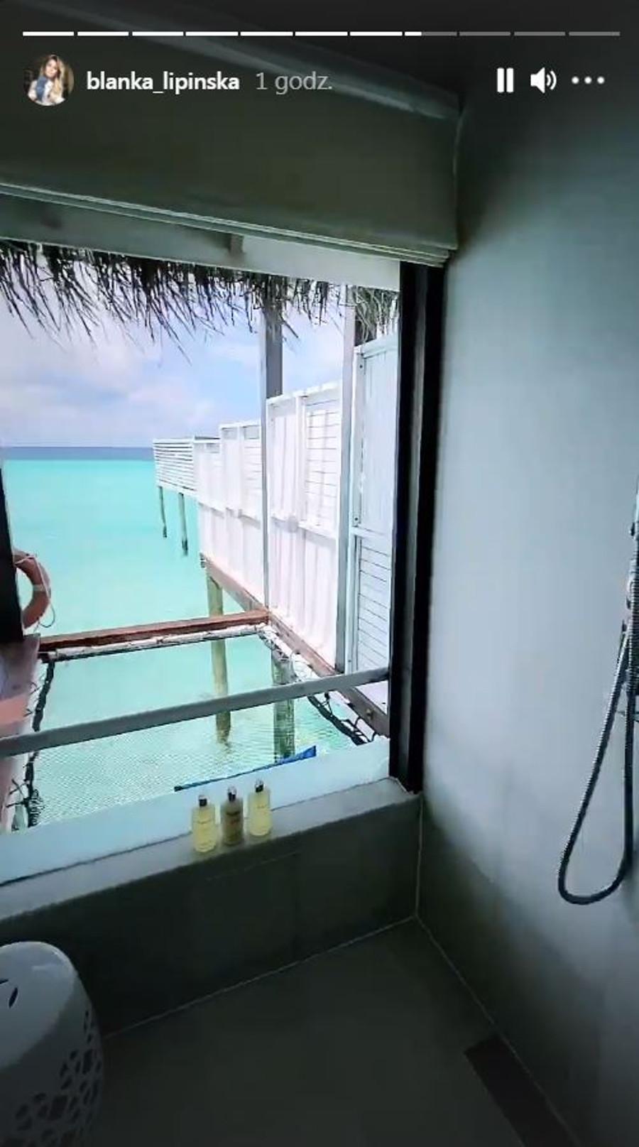 Lipińska pochwaliła się apartamentem na Malediwach.