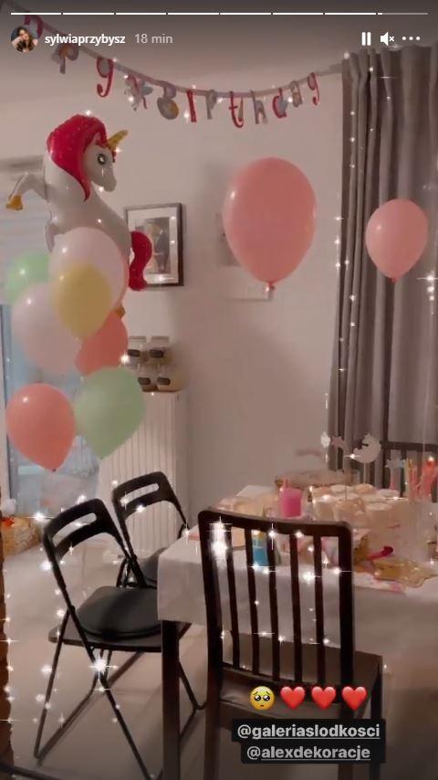 Impreza urodzinowa Poli Dąbrowskiej