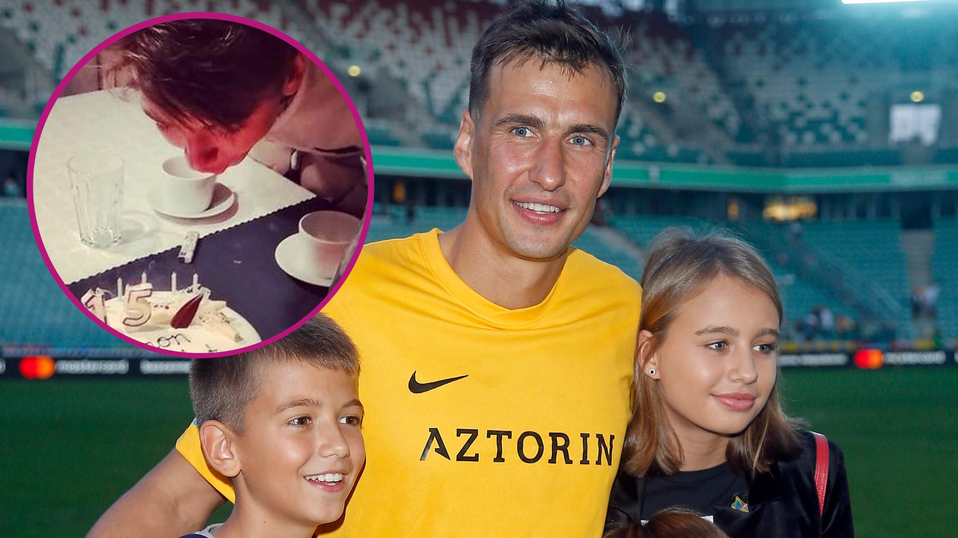 Syn Anny Przybylskiej i Jarosława Bieniuka skończył 15 lat. Siostra aktorki pokazała zdjęcie z urodzin