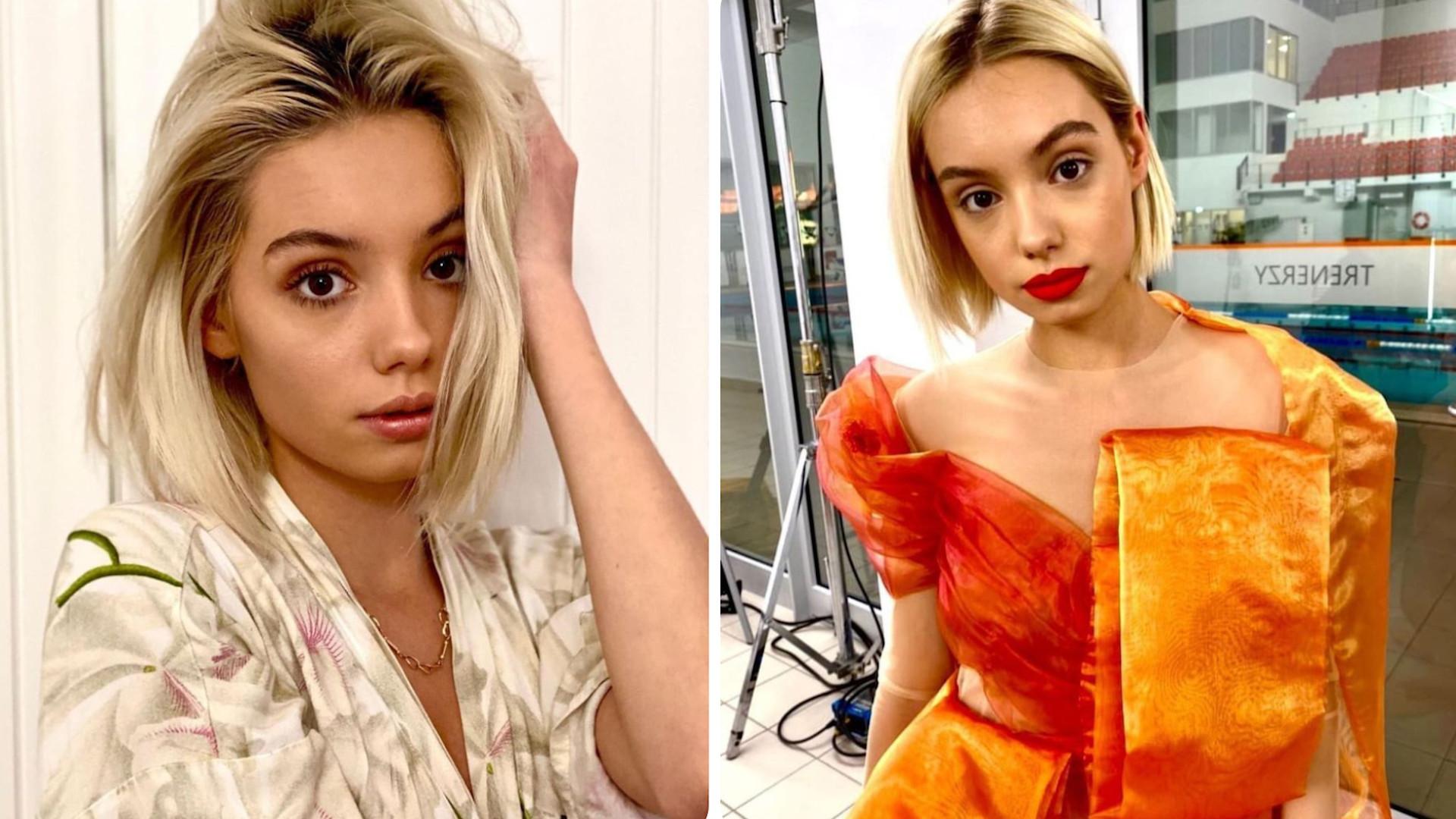 """Karolina Płocka z """"Top Model"""" zmieniła fryzurę. """"Kolor mojej duszy"""""""