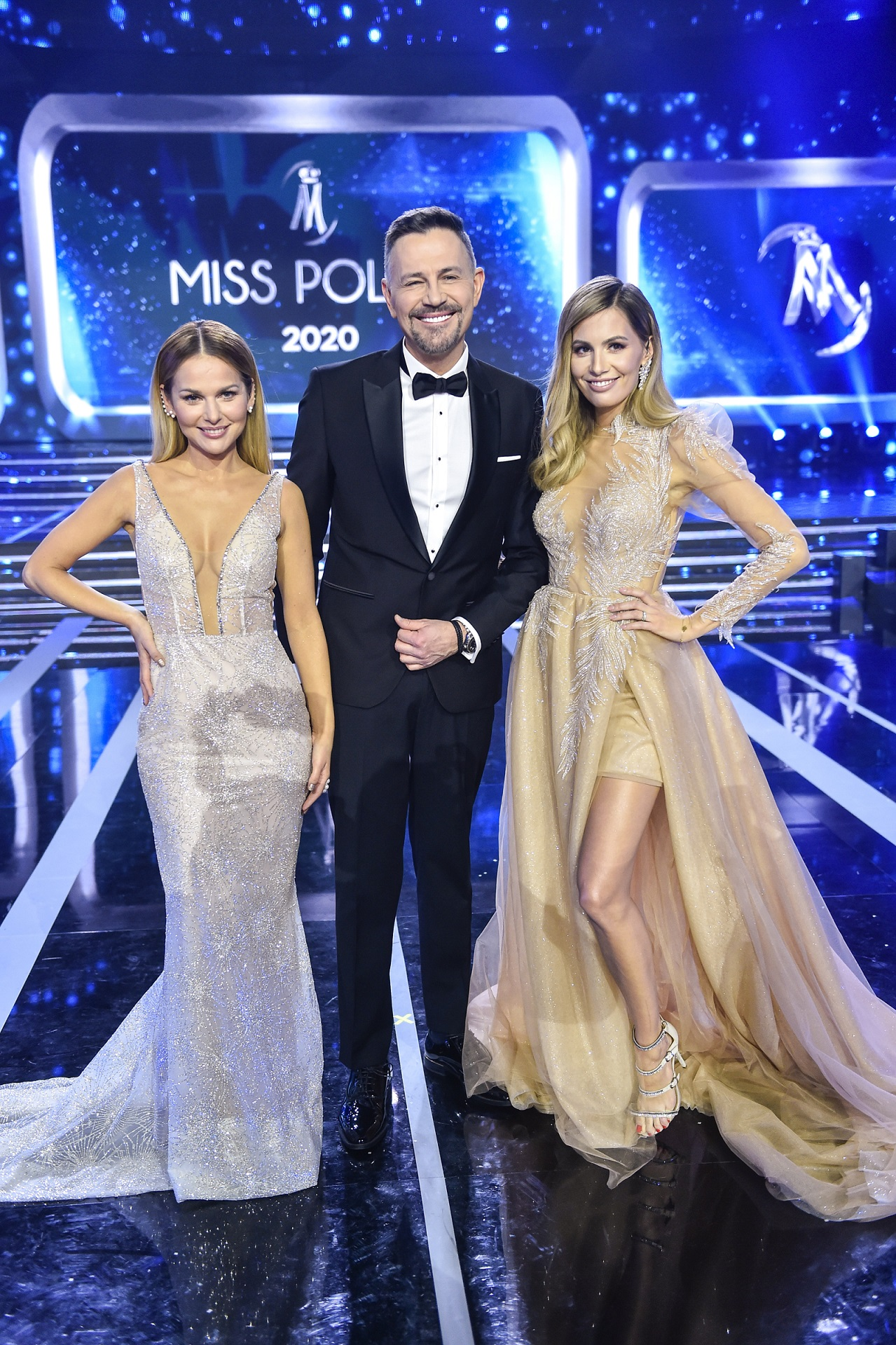 Prowadzący galę Miss Polski 2020.