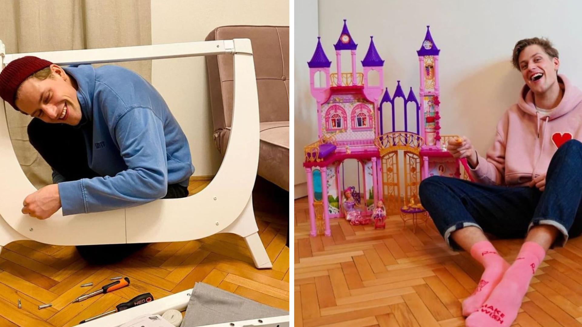 Jakob Kosel pokazał wózek dla dziecka. Zdecydował się na markę, którą wybrała też Gigi Hadid