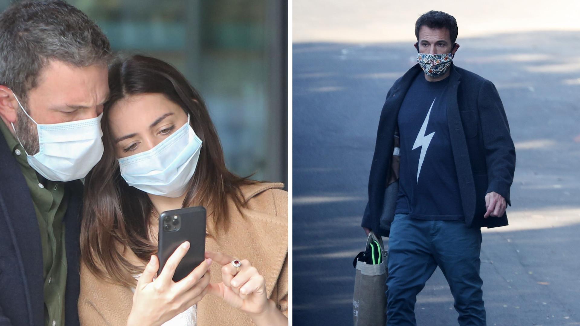 Ben Affleck po rozstaniu z Aną da Armas wygląda TRAGICZNIE