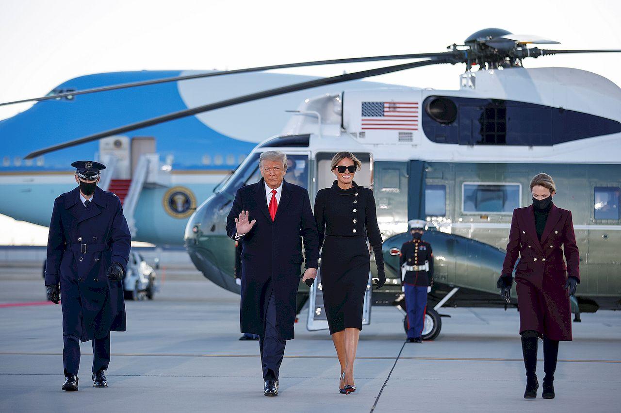 Donald Trump opuścił Biały Dom