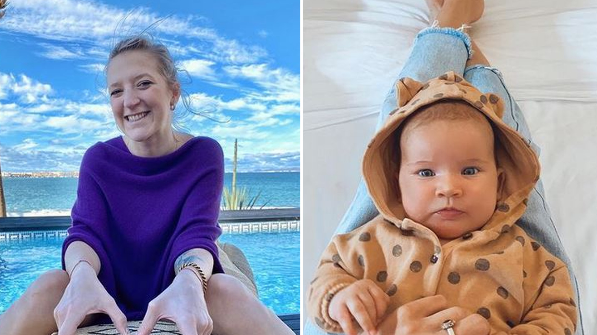 Lara Gessler świętuje 3 miesiące Neny. Pokazała swoją sylwetkę w stroju kąpielowym
