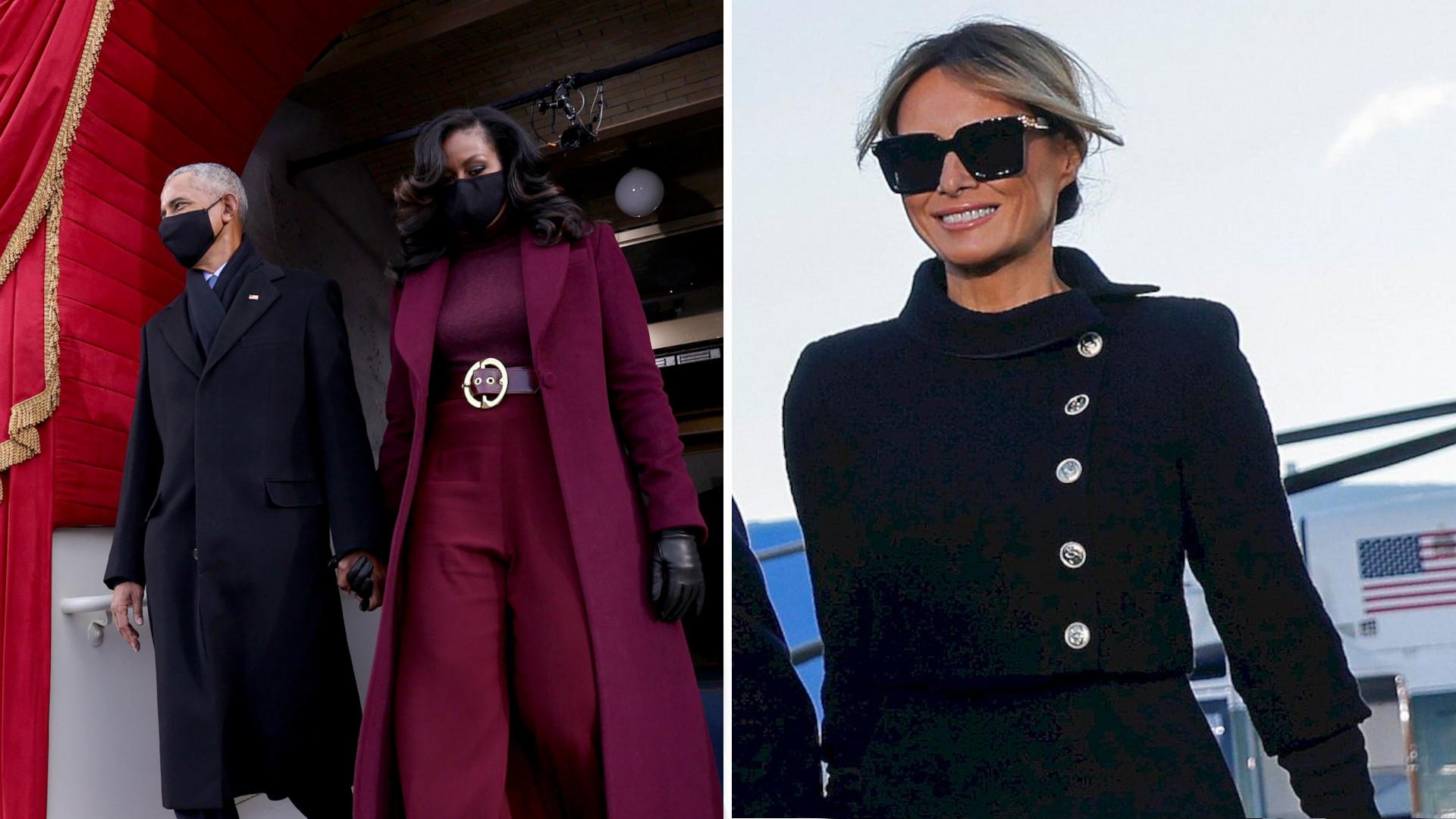 Amerykański Vogue zachwyca się stylizacją Michelle Obamy. Wbija szpilę Melanii Trump?
