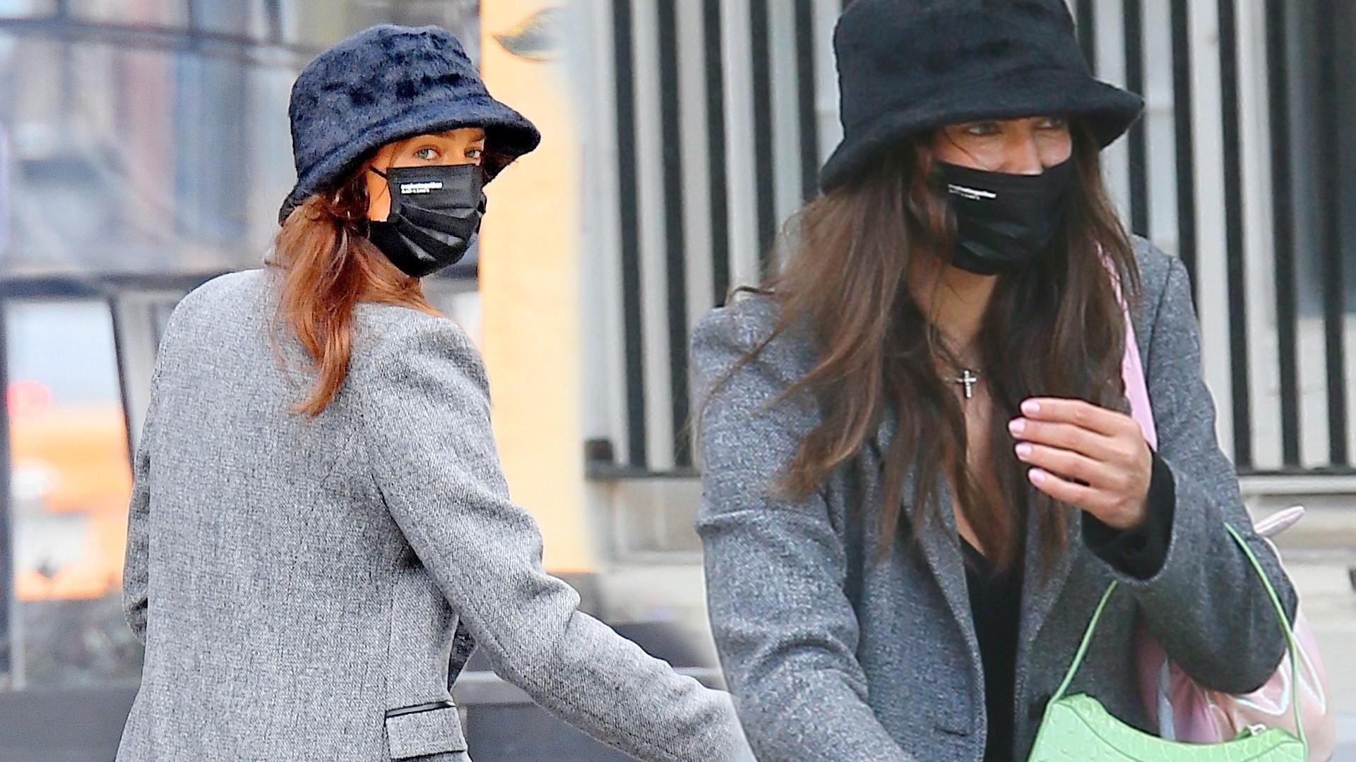 Irina Shayk na spacerze z córką. Modna czy może NUDNA stylizacja?