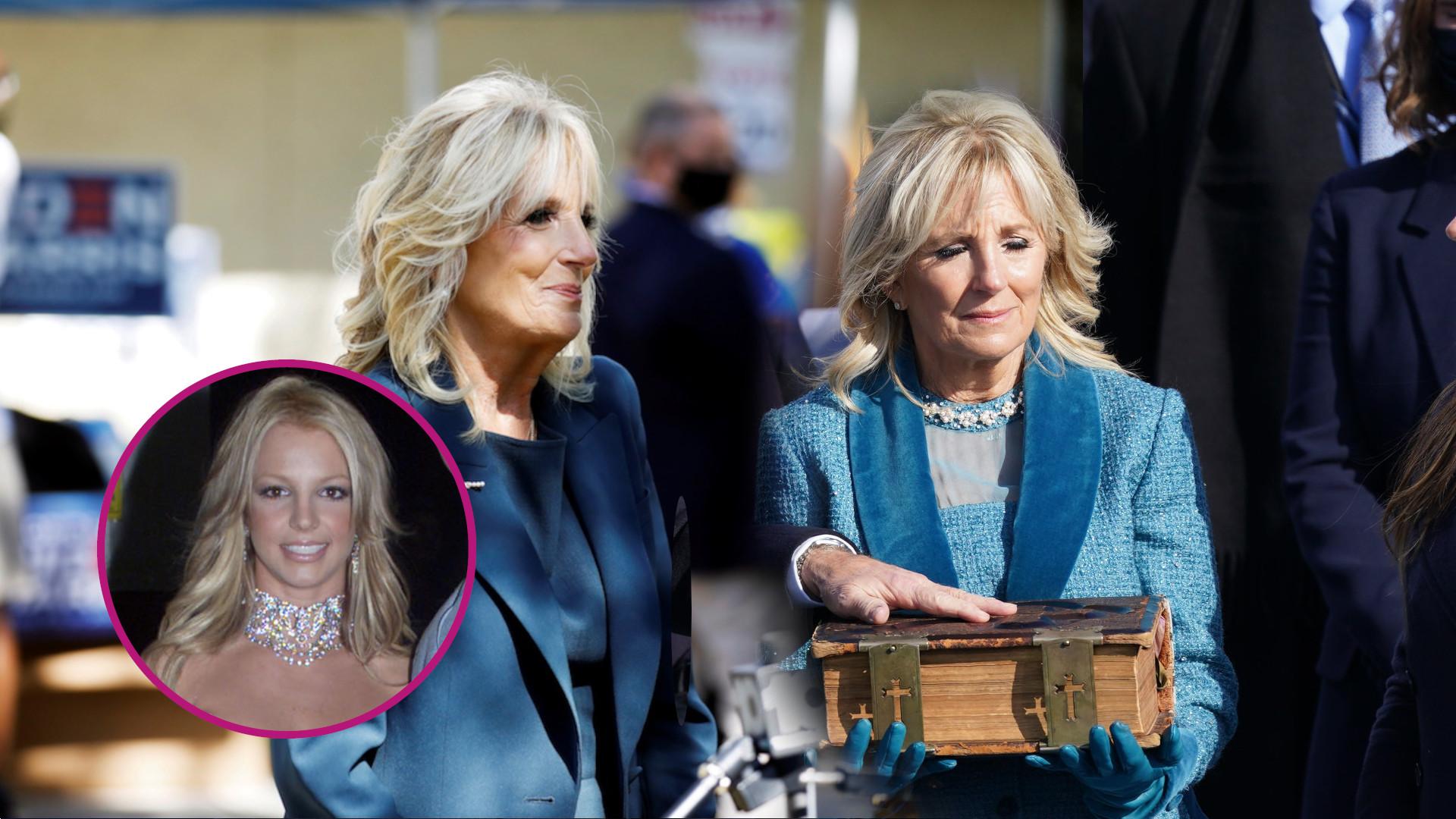 Jill Biden porównana do Britney Spears! Chodzi o słynną kreację