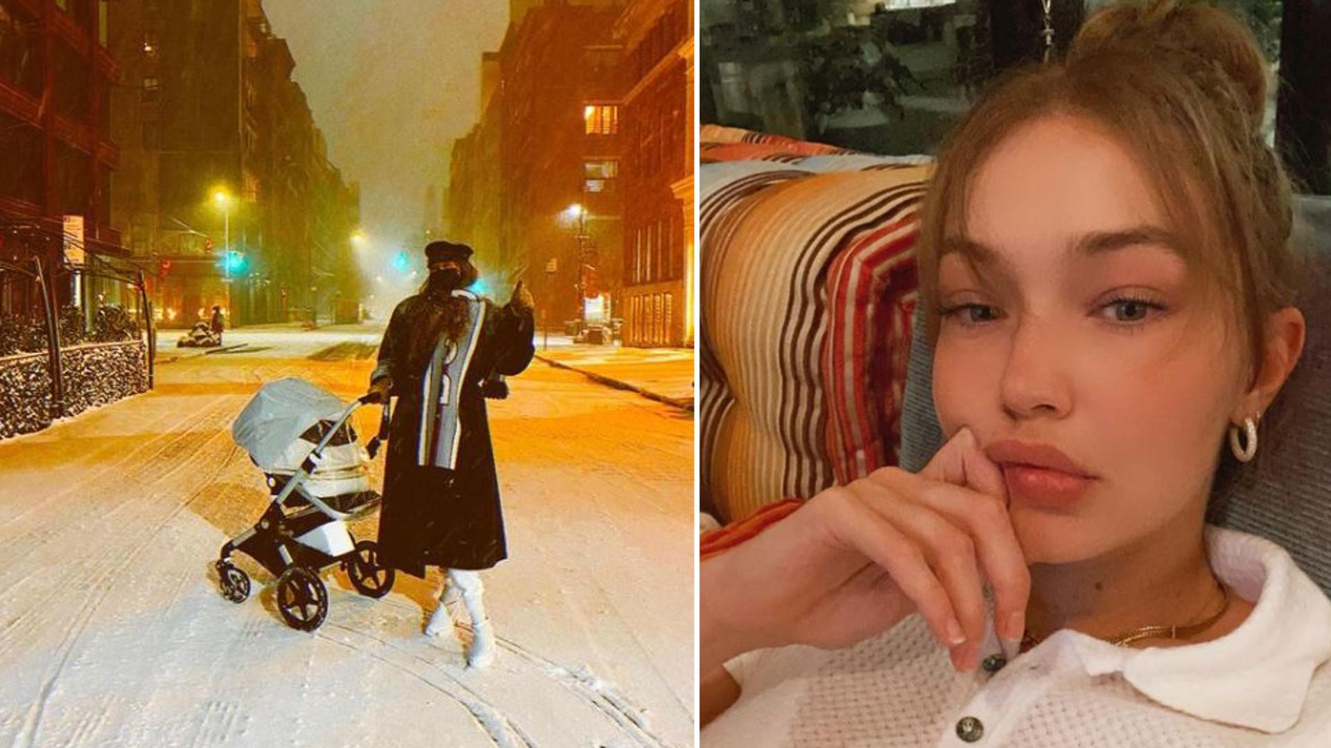 Gigi Hadid WYJAWIŁA, jak dała córce na imię