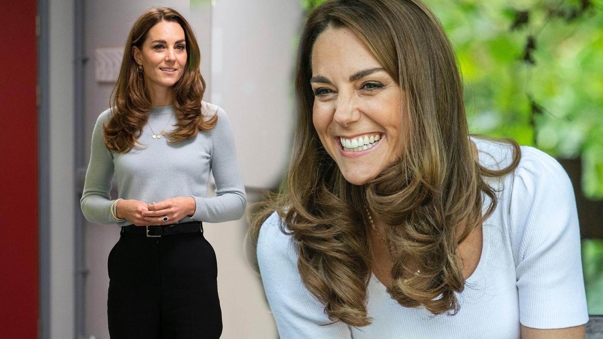 Księżna Kate spodziewa się kolejnego dziecka? Jej błogosławiony stan miała zdradzić fryzura