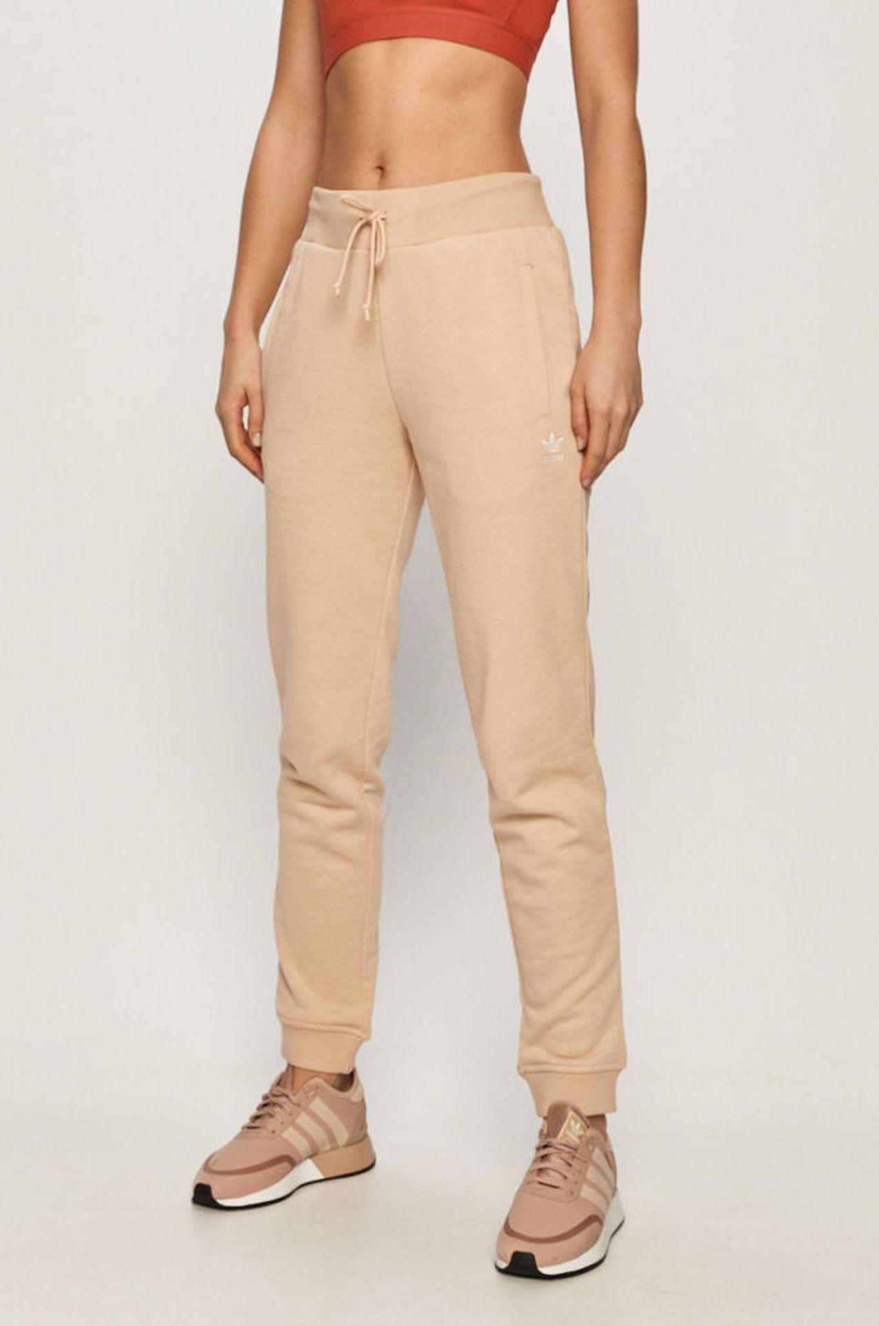 Beżowe spodnie dresowe