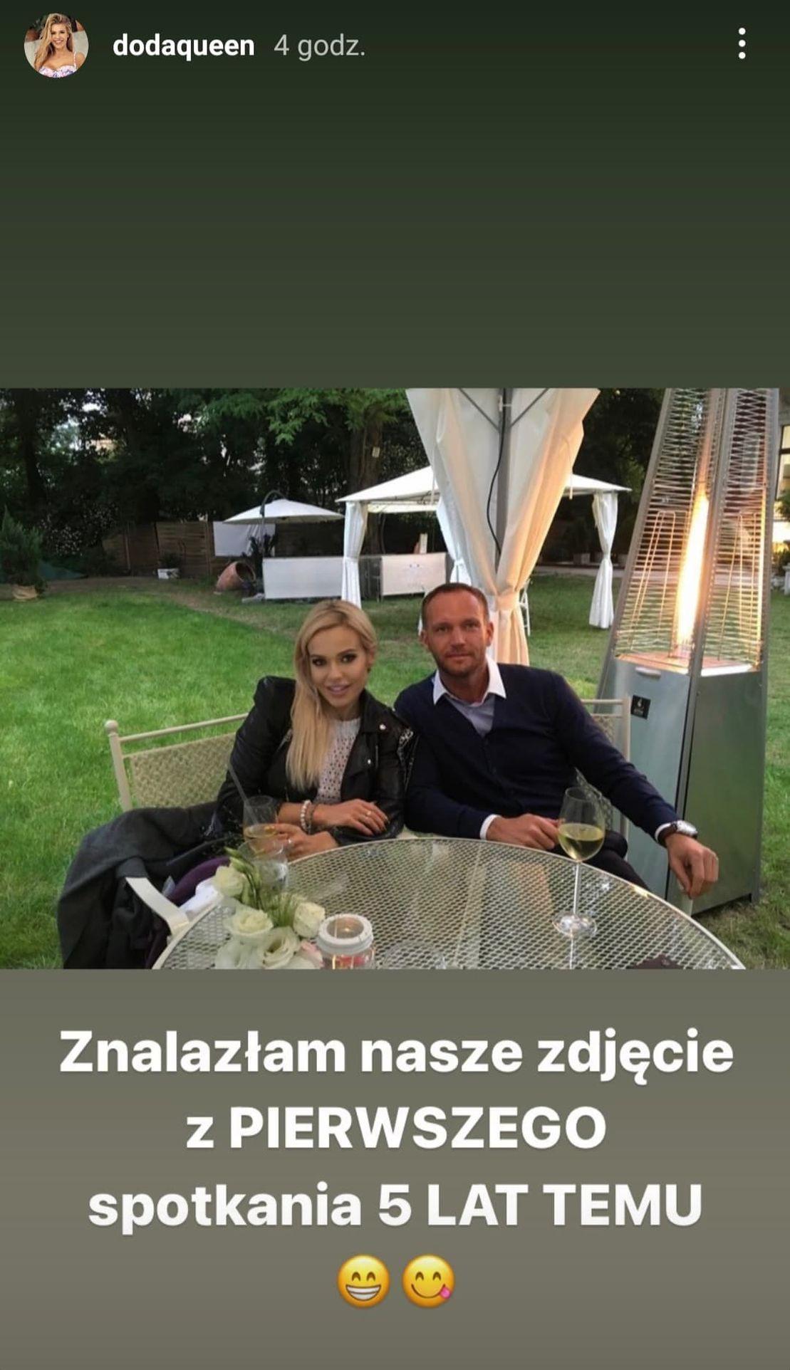 Doda pokazała zdjęcie z pierwszego spotkania z Emilem