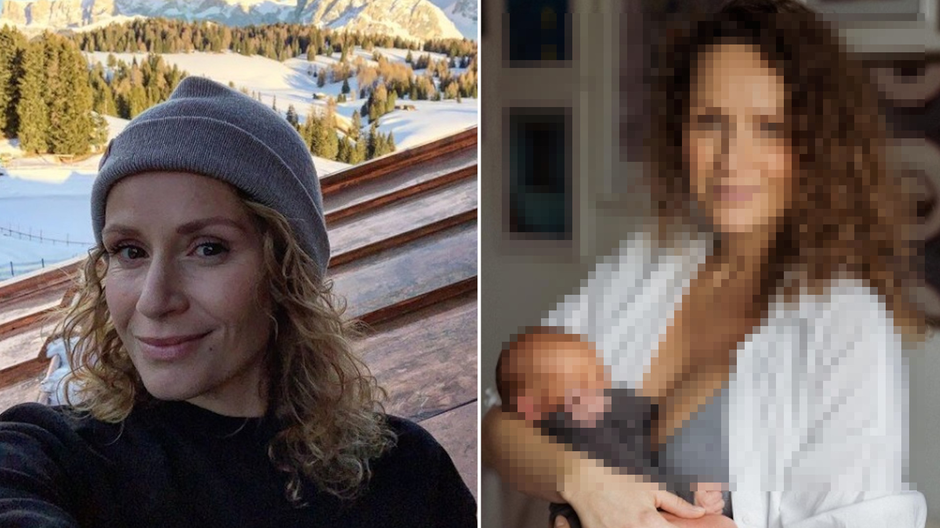 """Monika Mrozowska pokazała się w bieliźnie cztery dni po porodzie: """"Moje piersi są twarde jak kamień, i wielkie jak melony z Biedronki"""""""