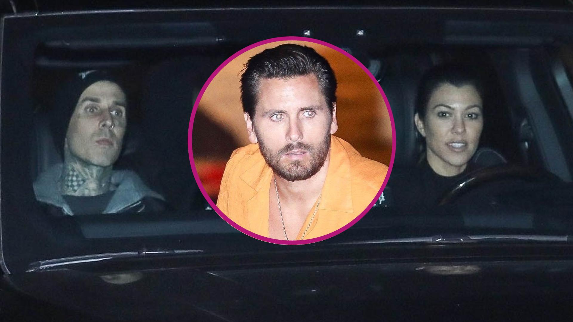 Scott Disick REAGUJE na romans Kourtney Kardashian i Travisa Barkera