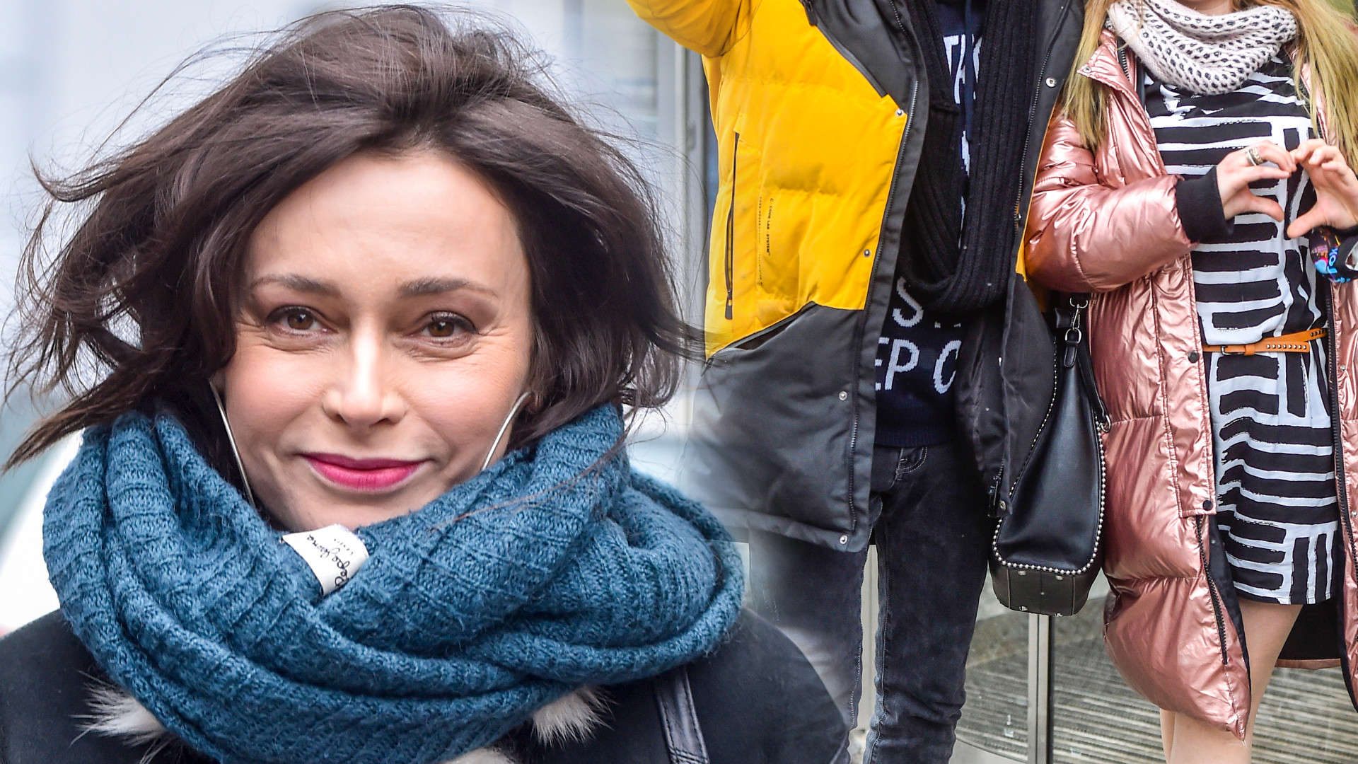 """Gwiazdy DDTVN: Renata Dancewicz, aktor """"13 posterunku"""" z córką (ZDJĘCIA)"""