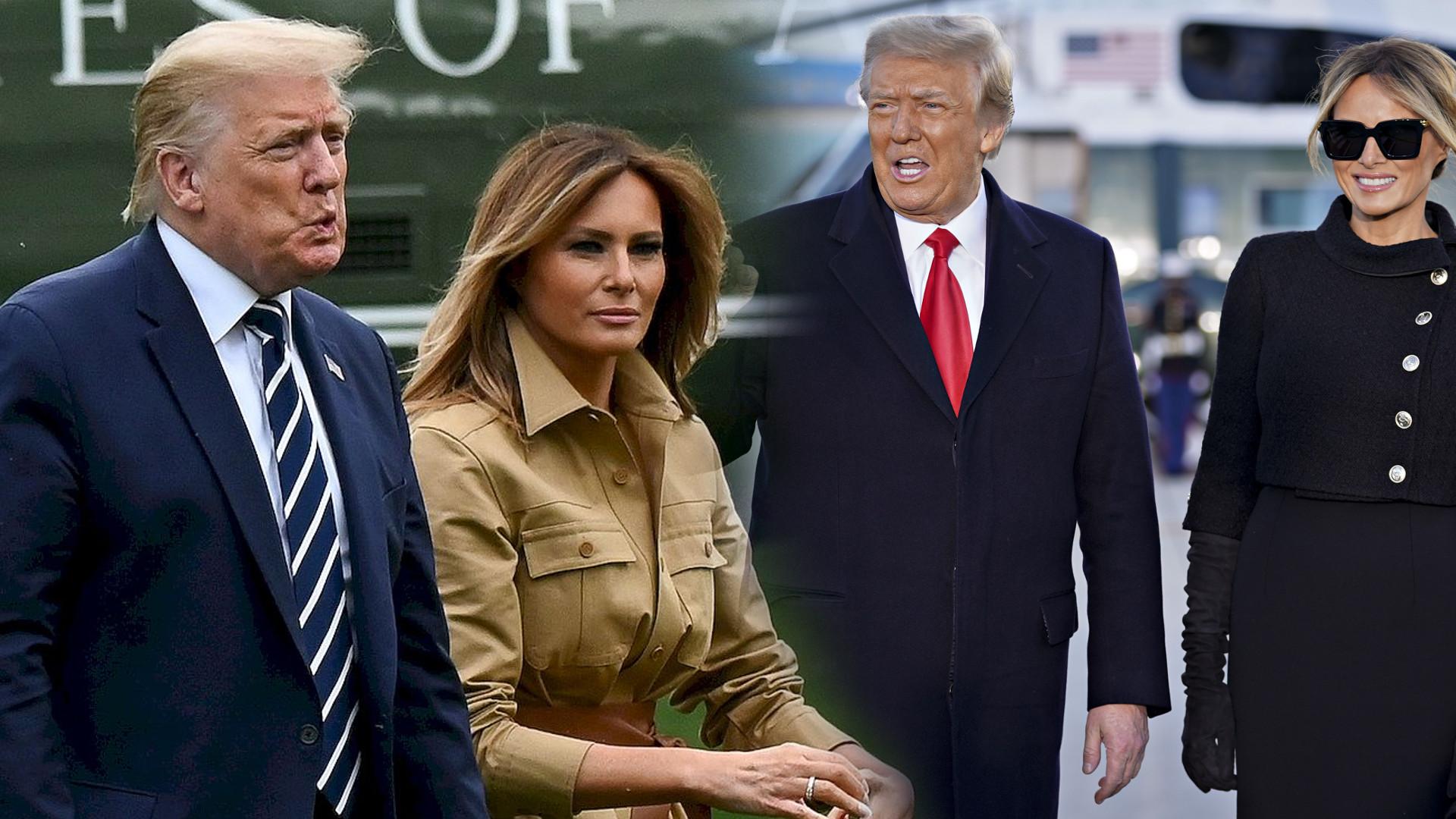 Melania Trump NIE rozwiedzie się z Donaldem Trumpem. Dlaczego?
