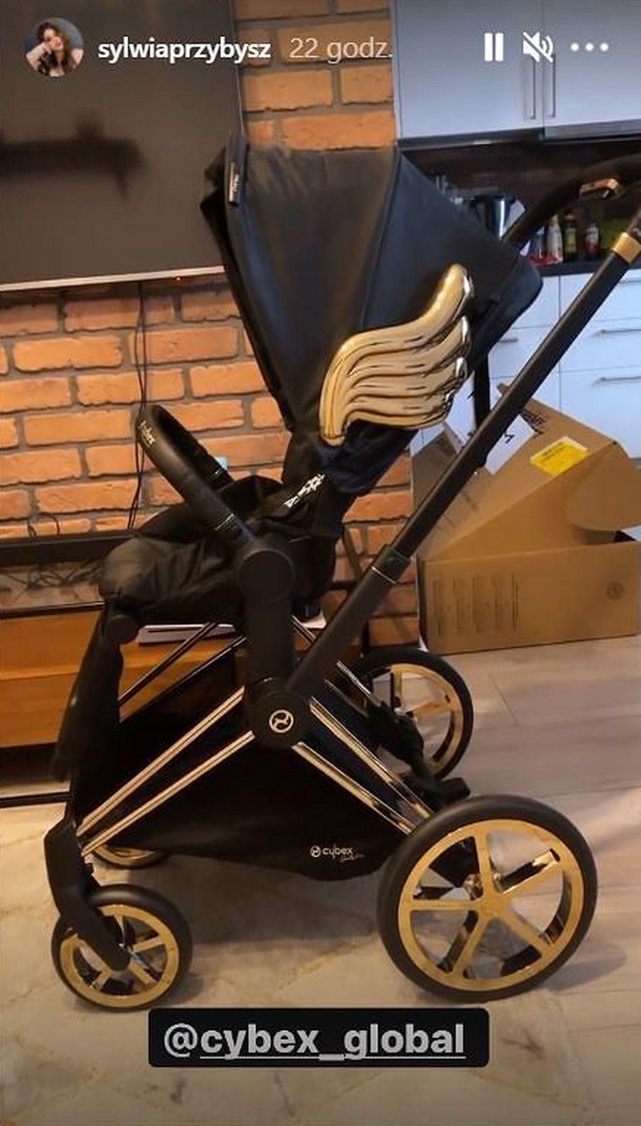 Sylwia Przybysz pokazała wózek