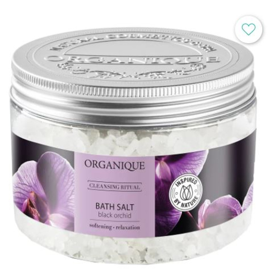 Relaksująca sól do kąpieli Organique.