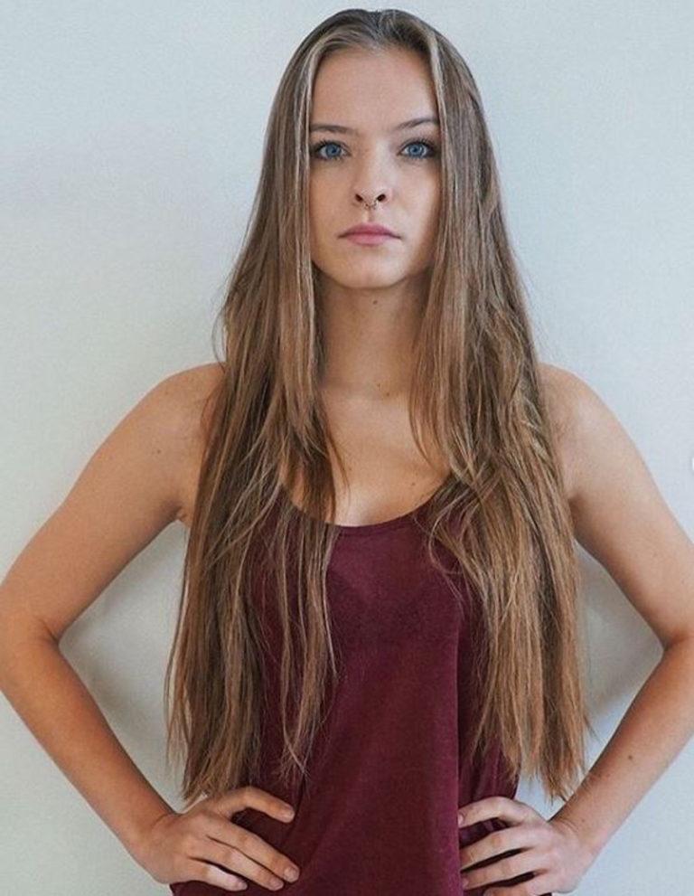 Zuza Kołodziejczyk w długich włosach.
