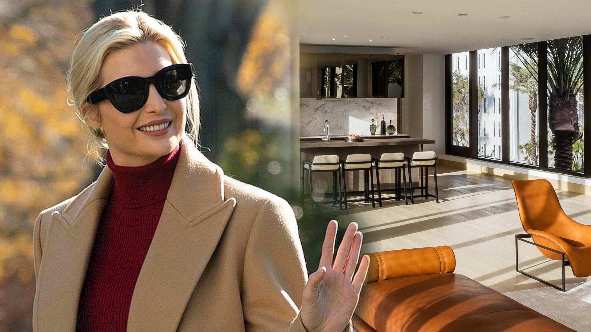 Ivanka Trump wynajęła luksusowe mieszkanie w Miami