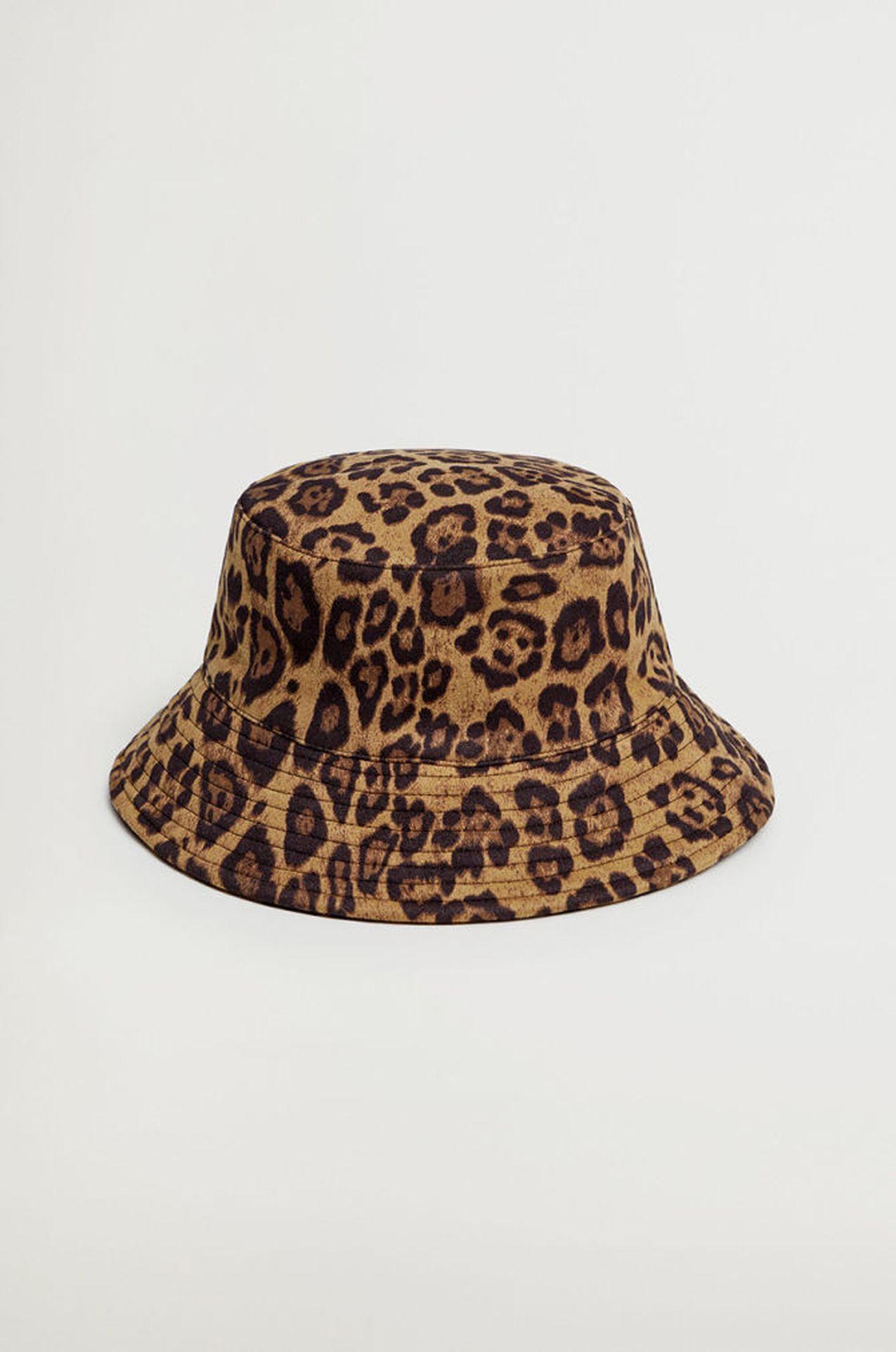 Panterkowy buckhet hat