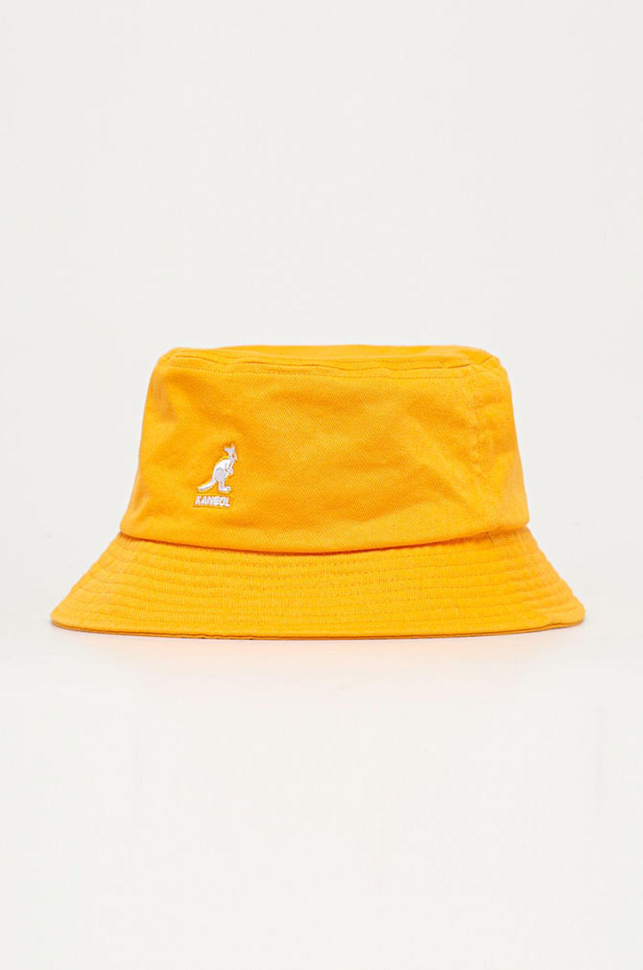 Żółty buckhet hat