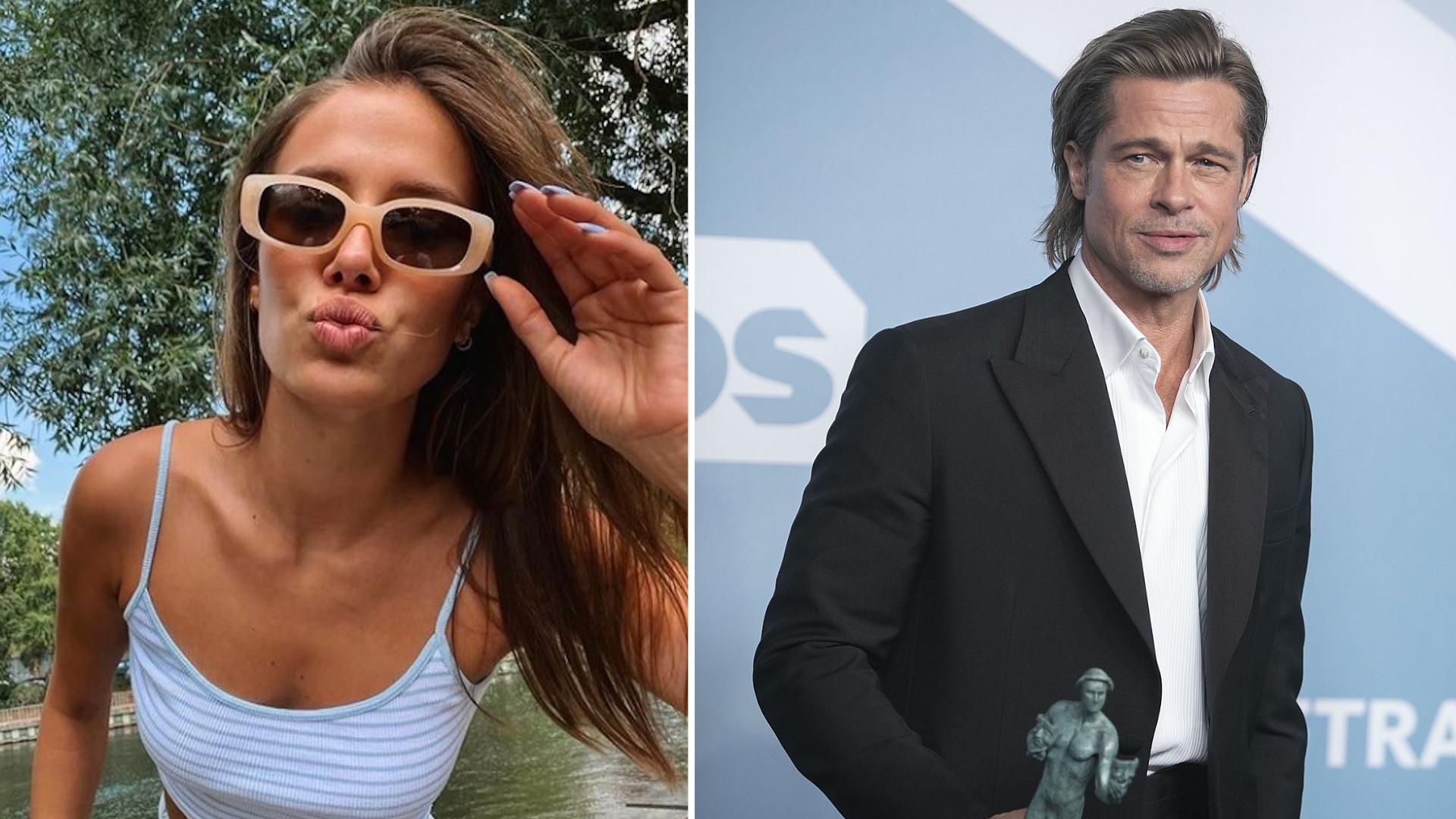Tego się nie spodziewaliśmy! Nicole Poturalski jest w ciąży z Bradem Pittem?