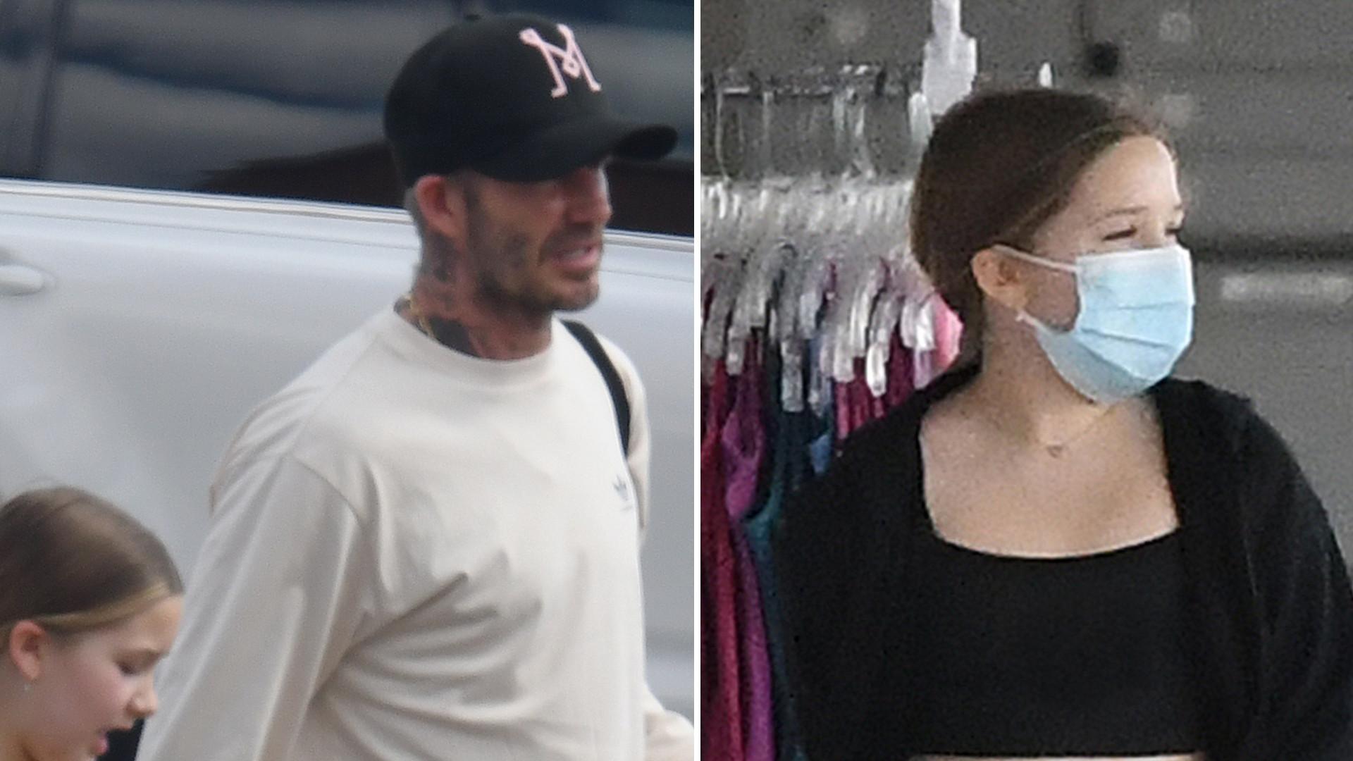 David Beckham WSPIERA córkę Harper w jej pasji (ZDJĘCIA)