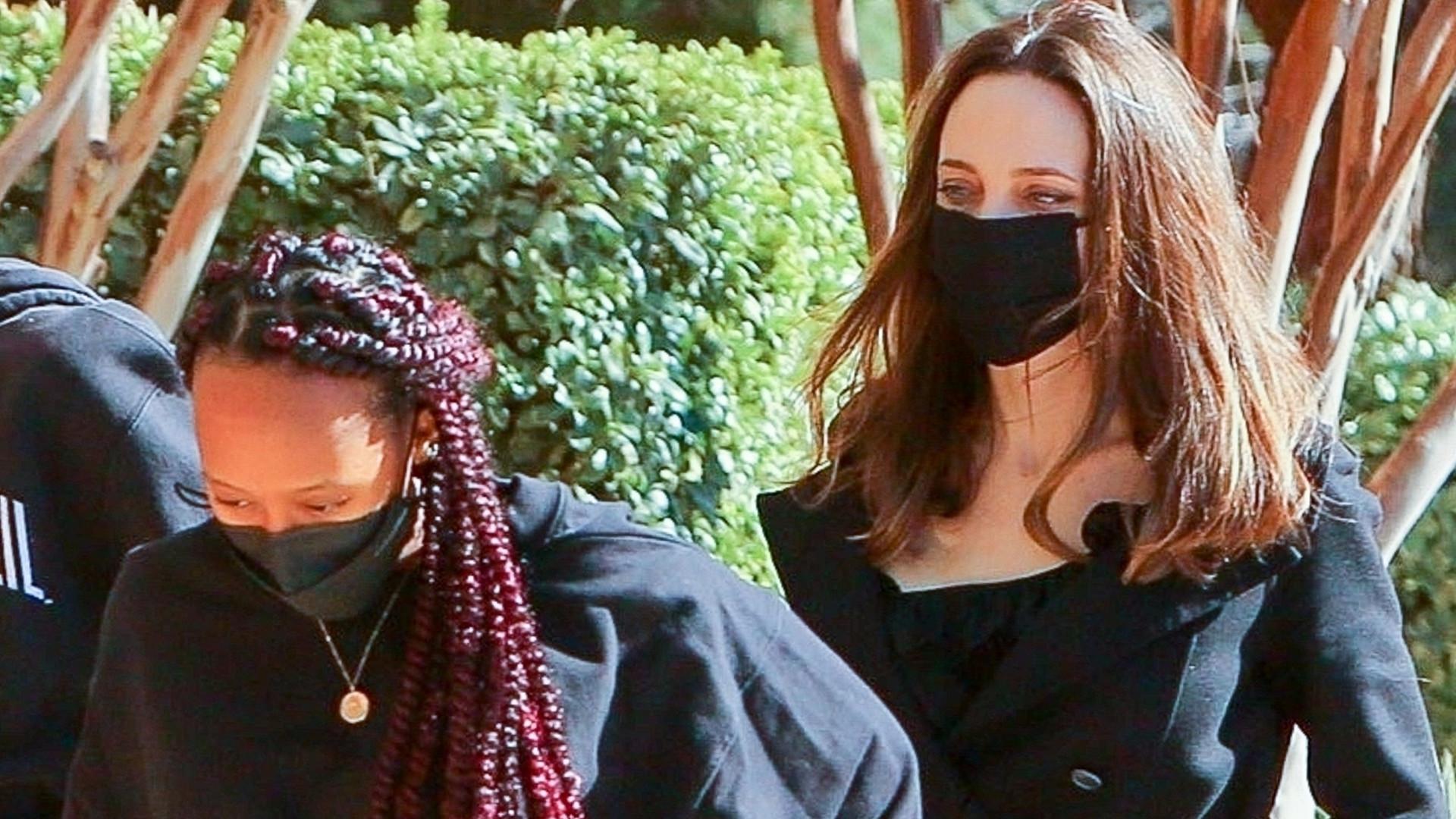 Angelina Jolie z córkami. Shiloh zmieniła WIZERUNEK (ZDJĘCIA)