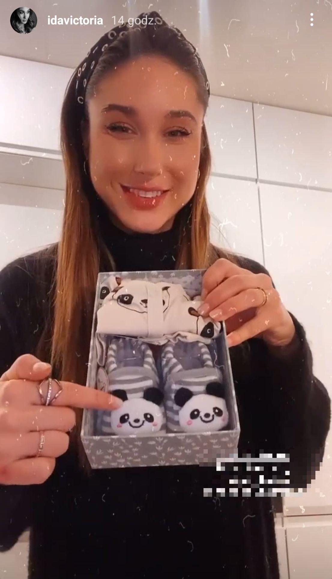 Ida Nowakowska pokazała buty dla dziecka