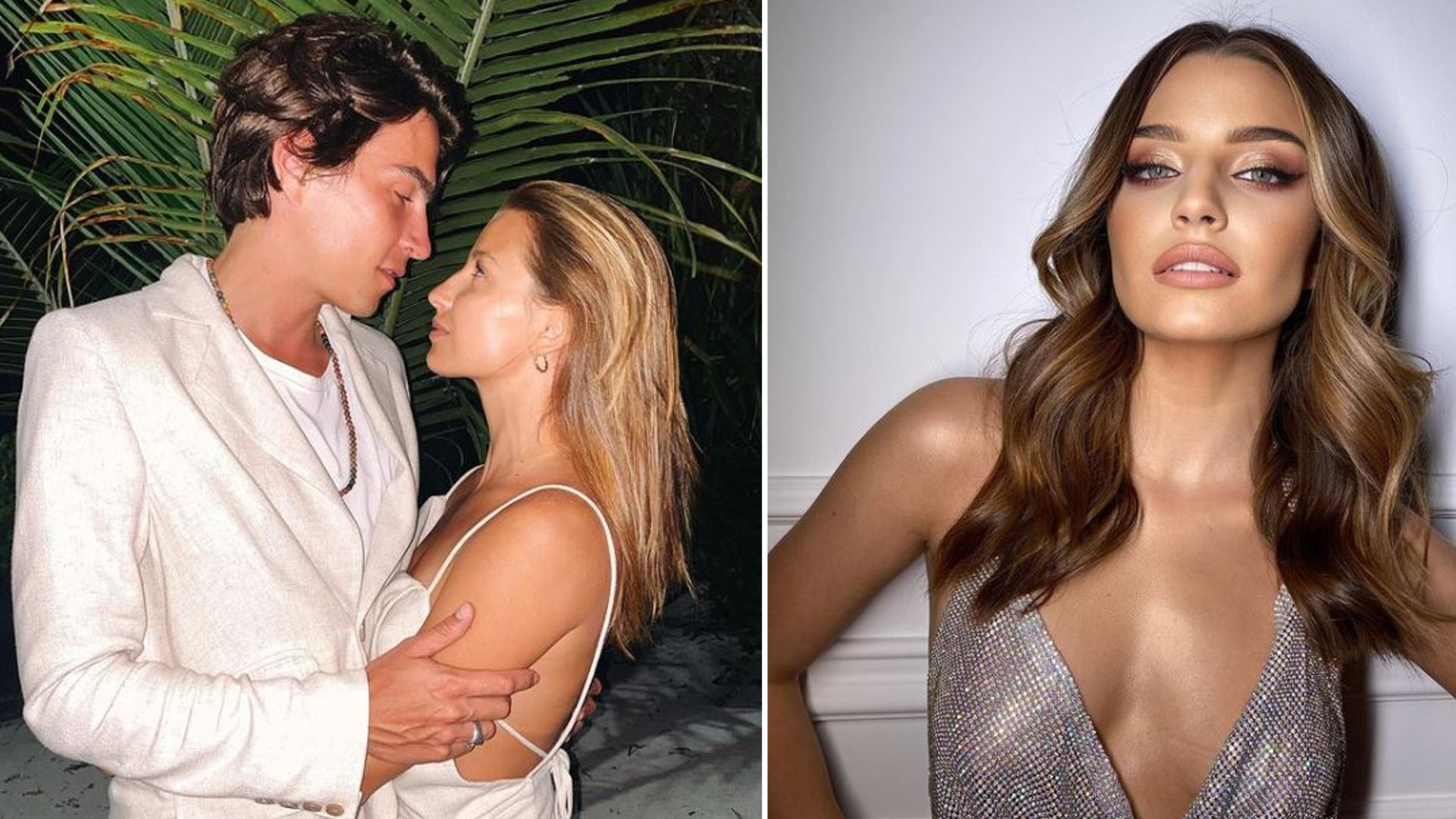 Zakochana Julia Wieniawa całuje się z Nikodemem Rozbickim
