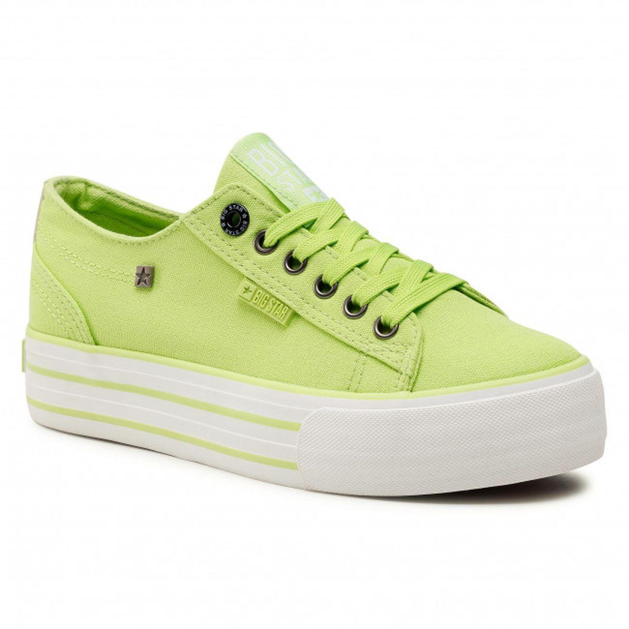 Zielone trampki