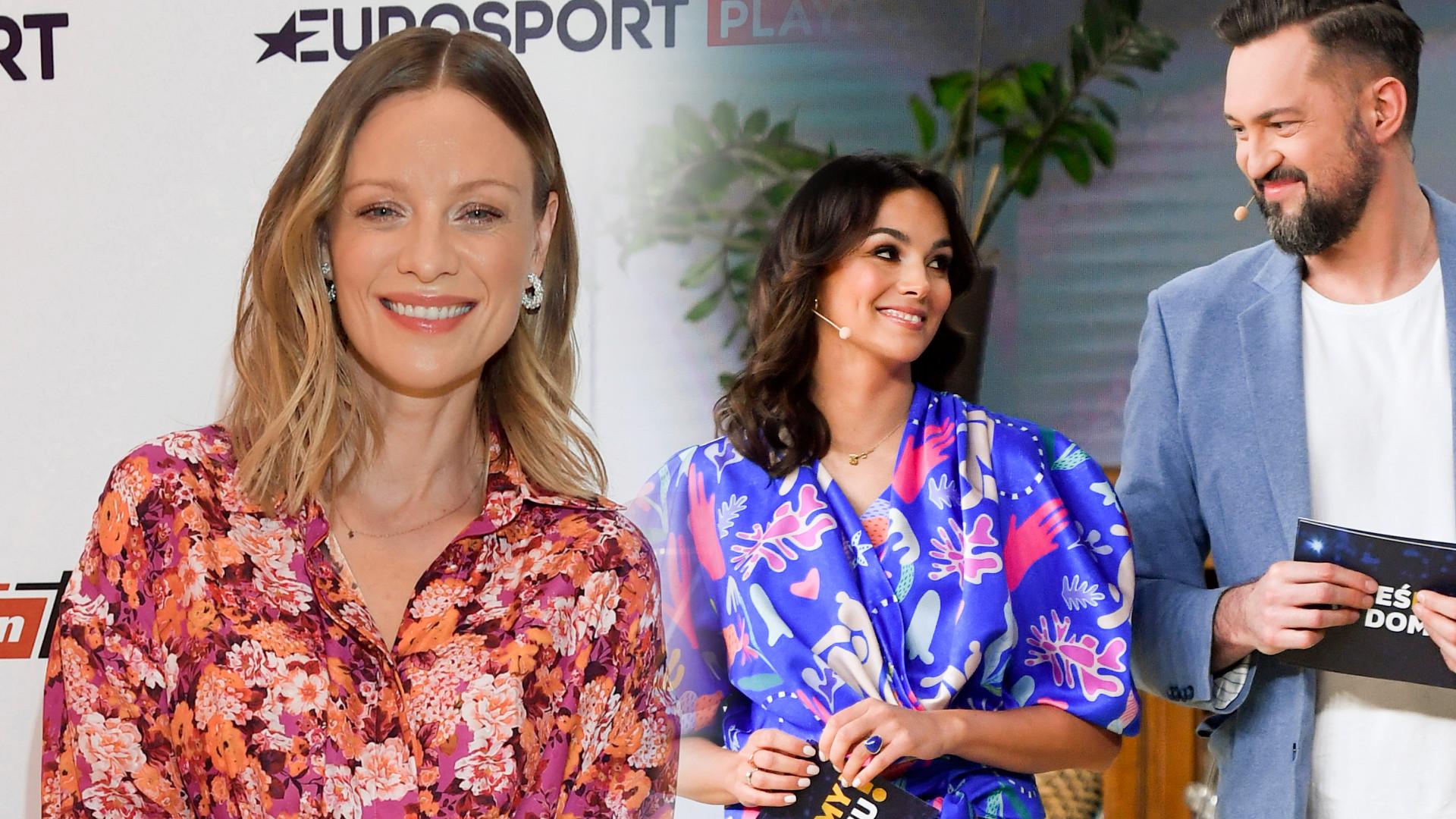 Gwiazdy na wiosennej ramówce TVN-u: Boczarska w mini, Dominika Kulczyk w jeansie (ZDJĘCIA)