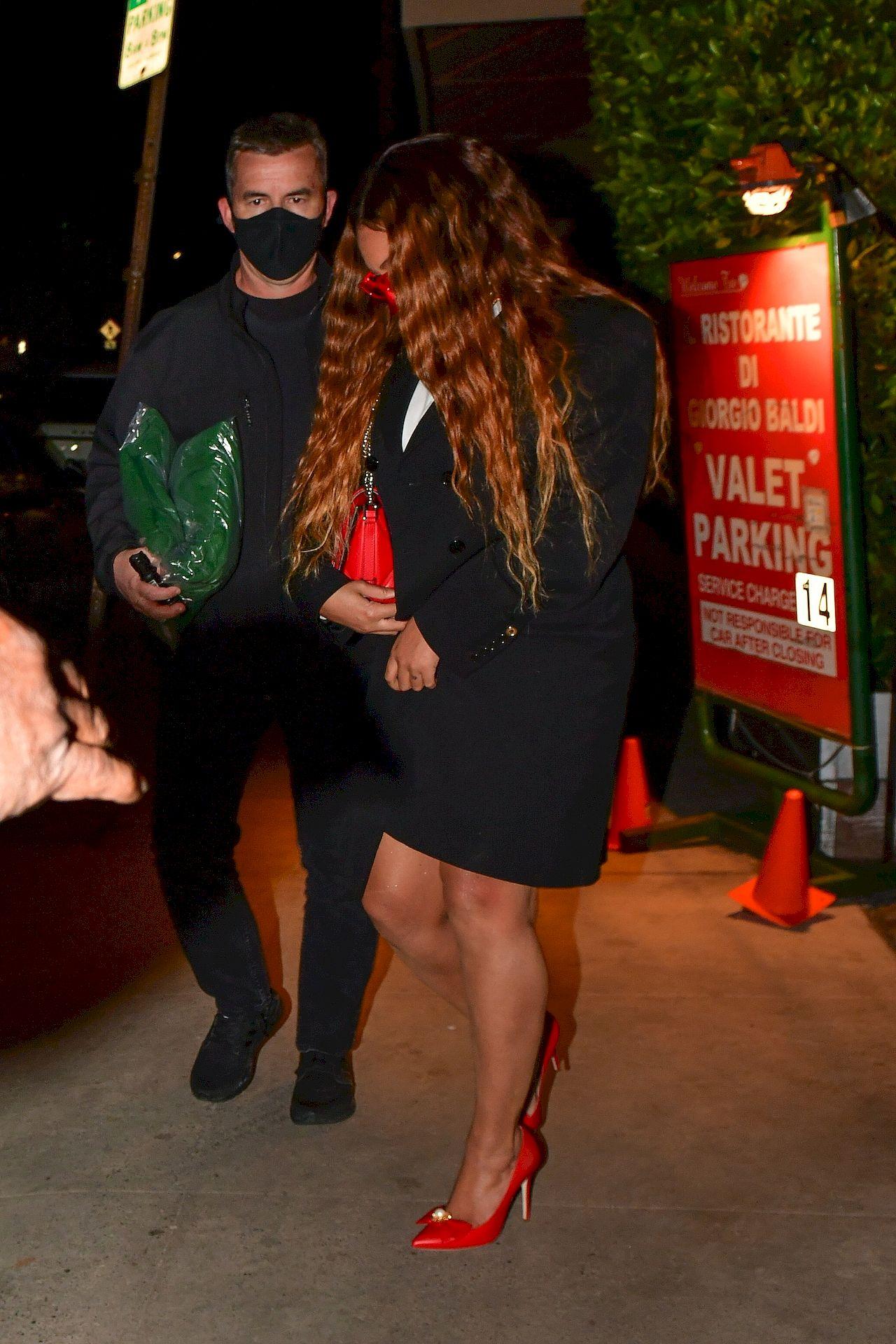 Beyonce na randce z mężem