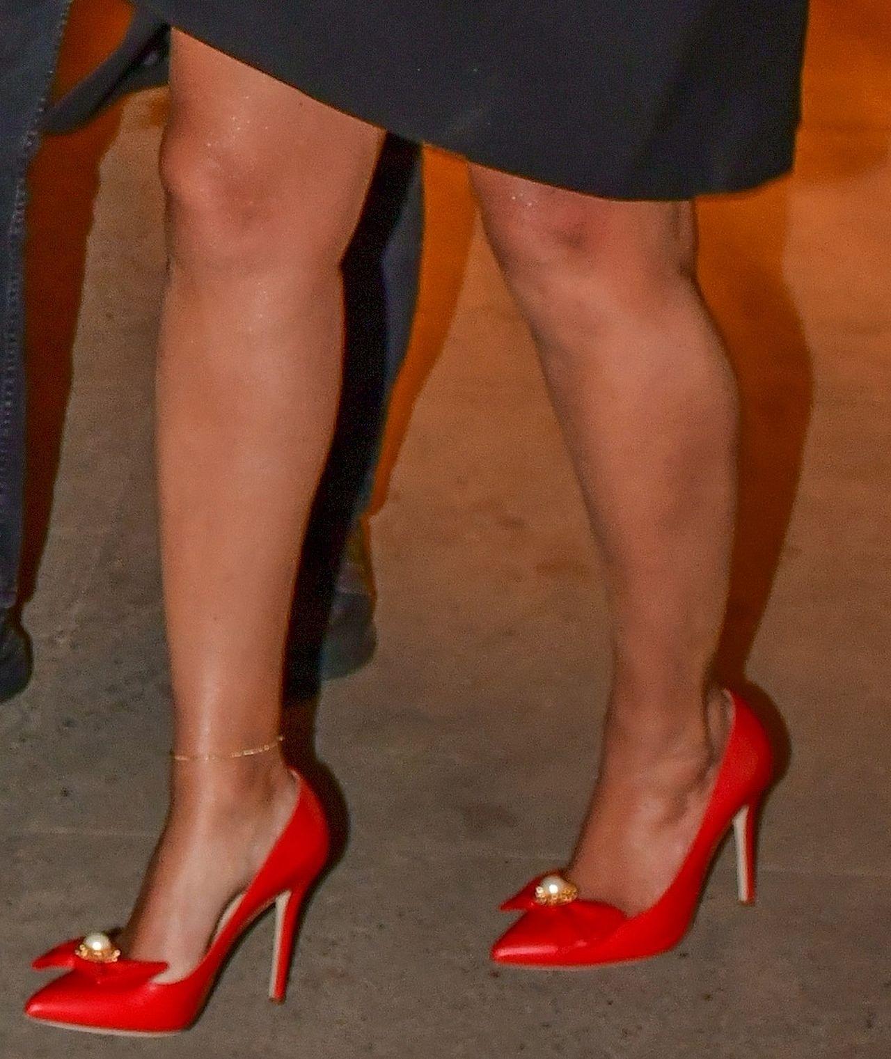 Beyonce w czerwonych szpilkach