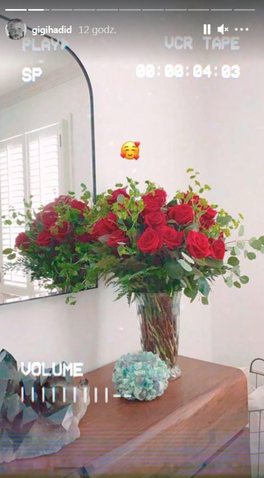 Gigi Hadid pokazała prezent na Walentynki od Zayna.