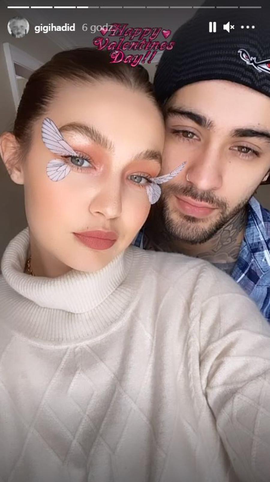 Gigi Hadid i Zayn Malik.