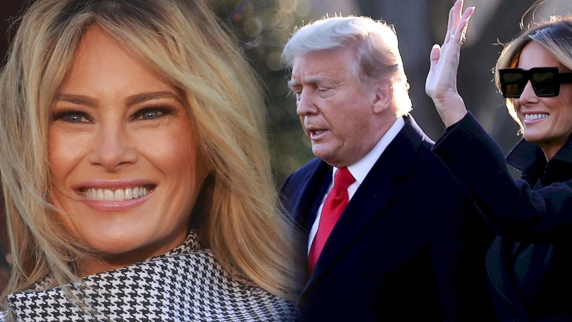 Melania Trump zignorowała męża nawet w Walentynki. Pod postem zawrzało