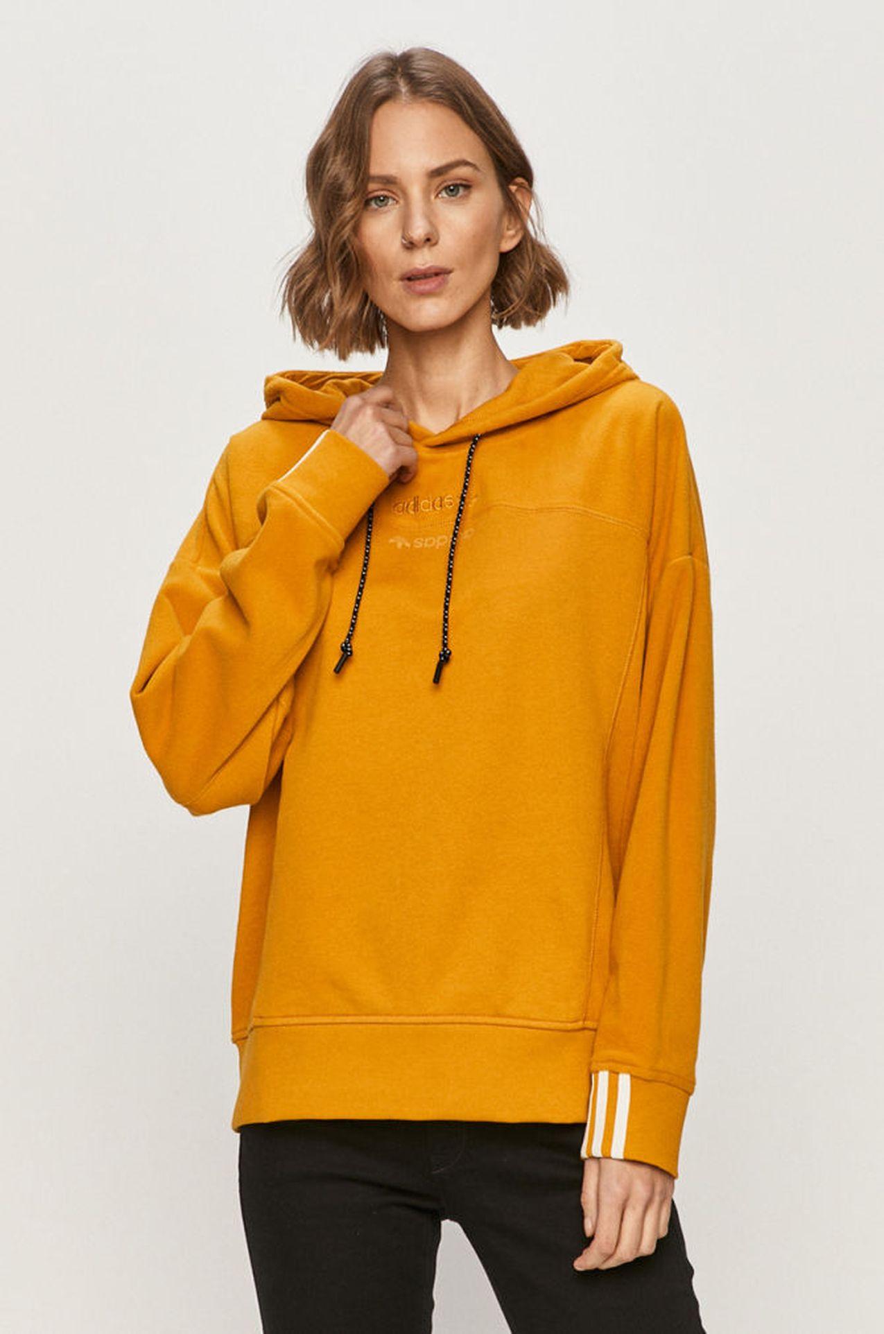 Pomarańczowa bluza