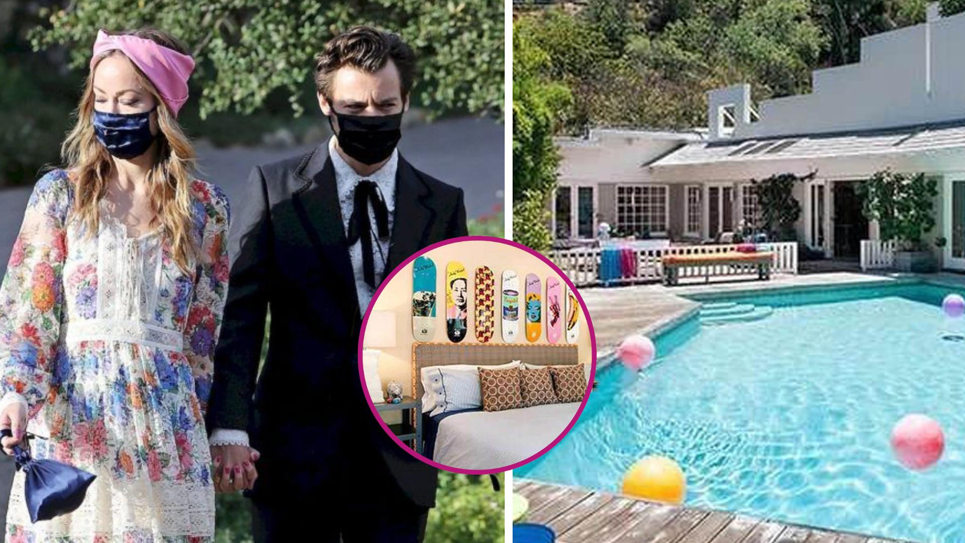 Harry Styles i Olivia Wilde zamieszkali RAZEM? Tak wygląda ich dom