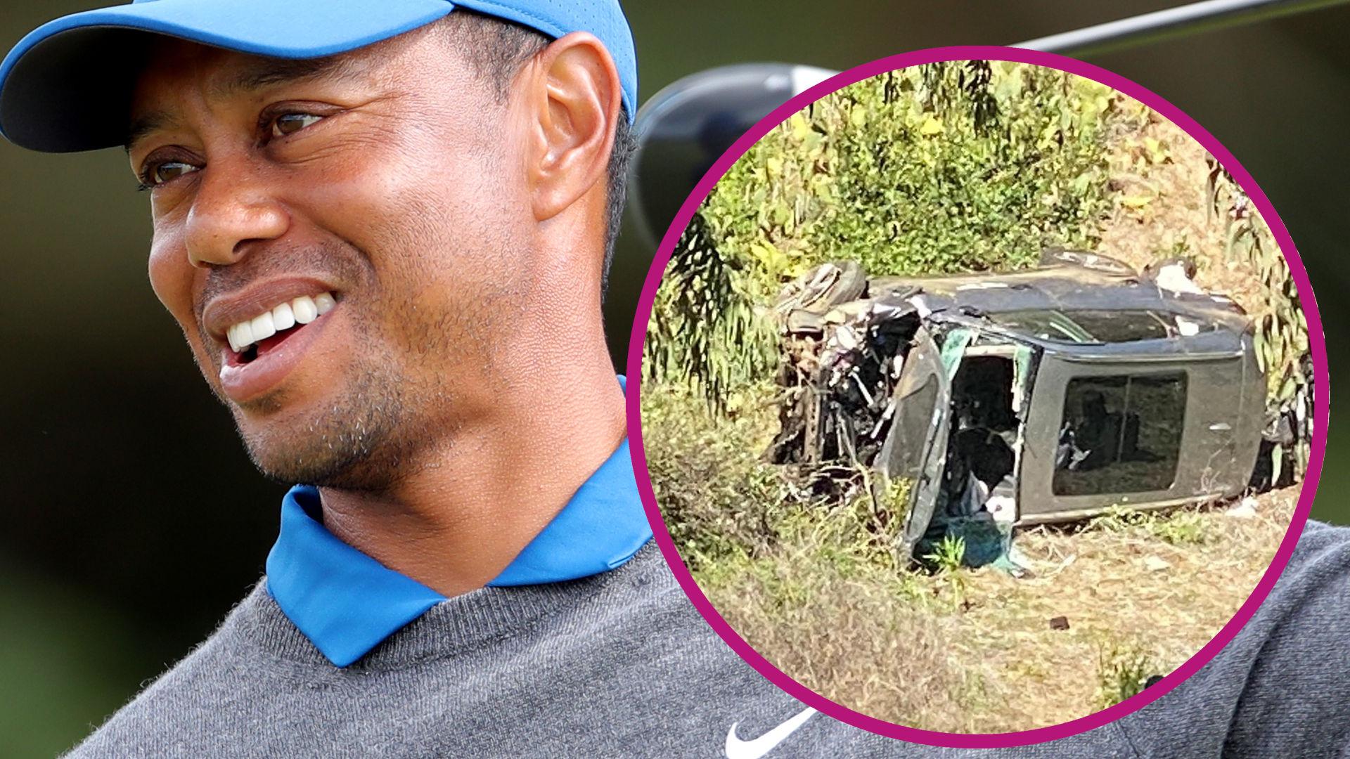 PILNE:Tiger Woods miał POWAŻNY wypadek. Trafił na stół operacyjny