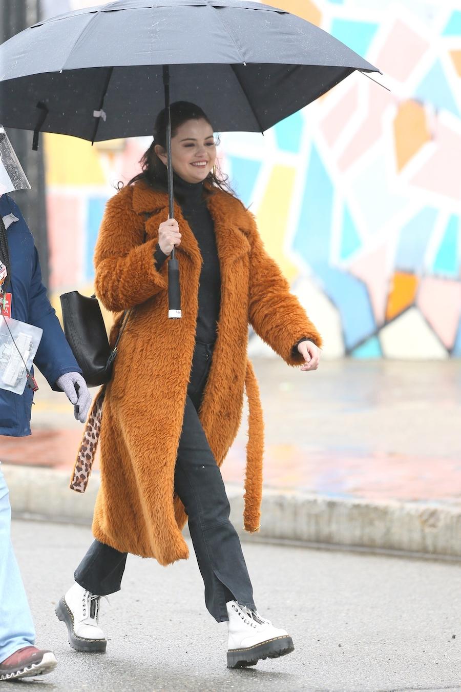 Selena Gomez w Nowym Jorku