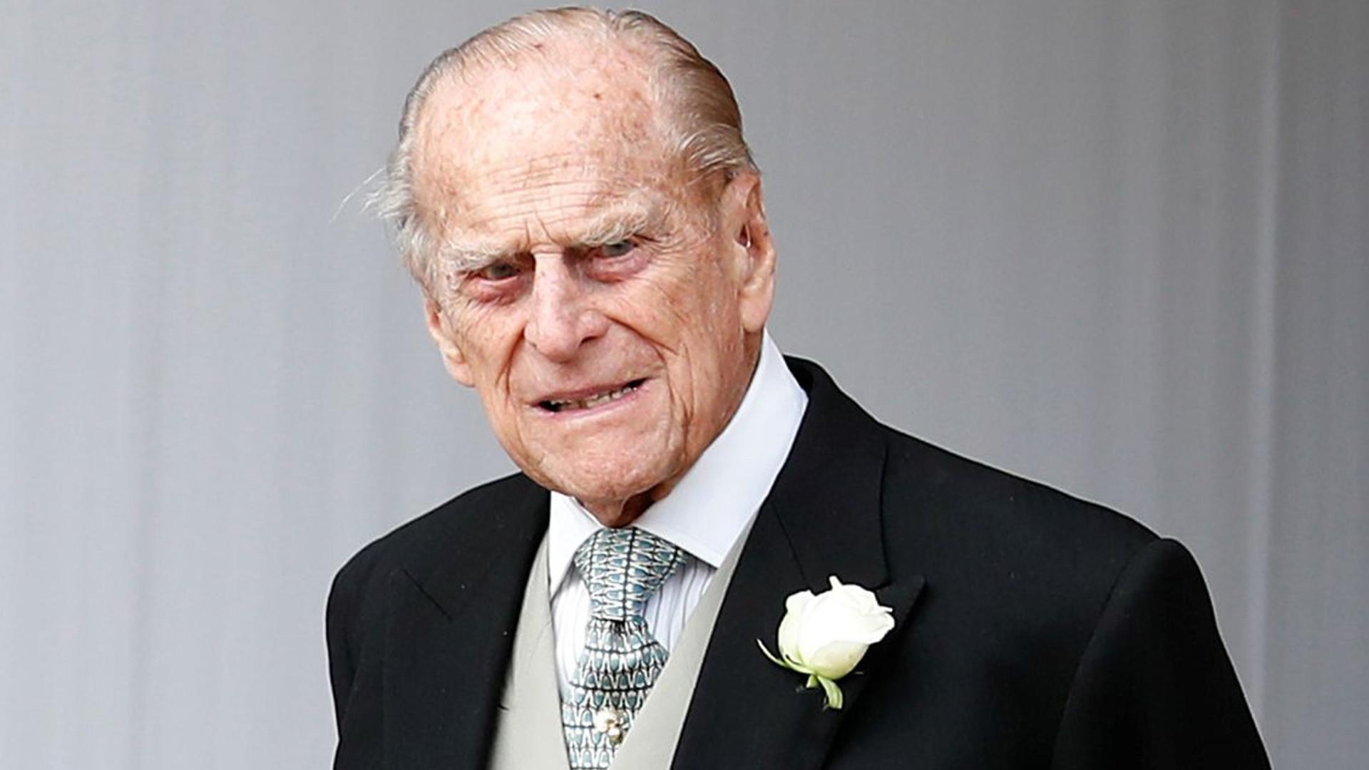 Książę Filip w szpitalu