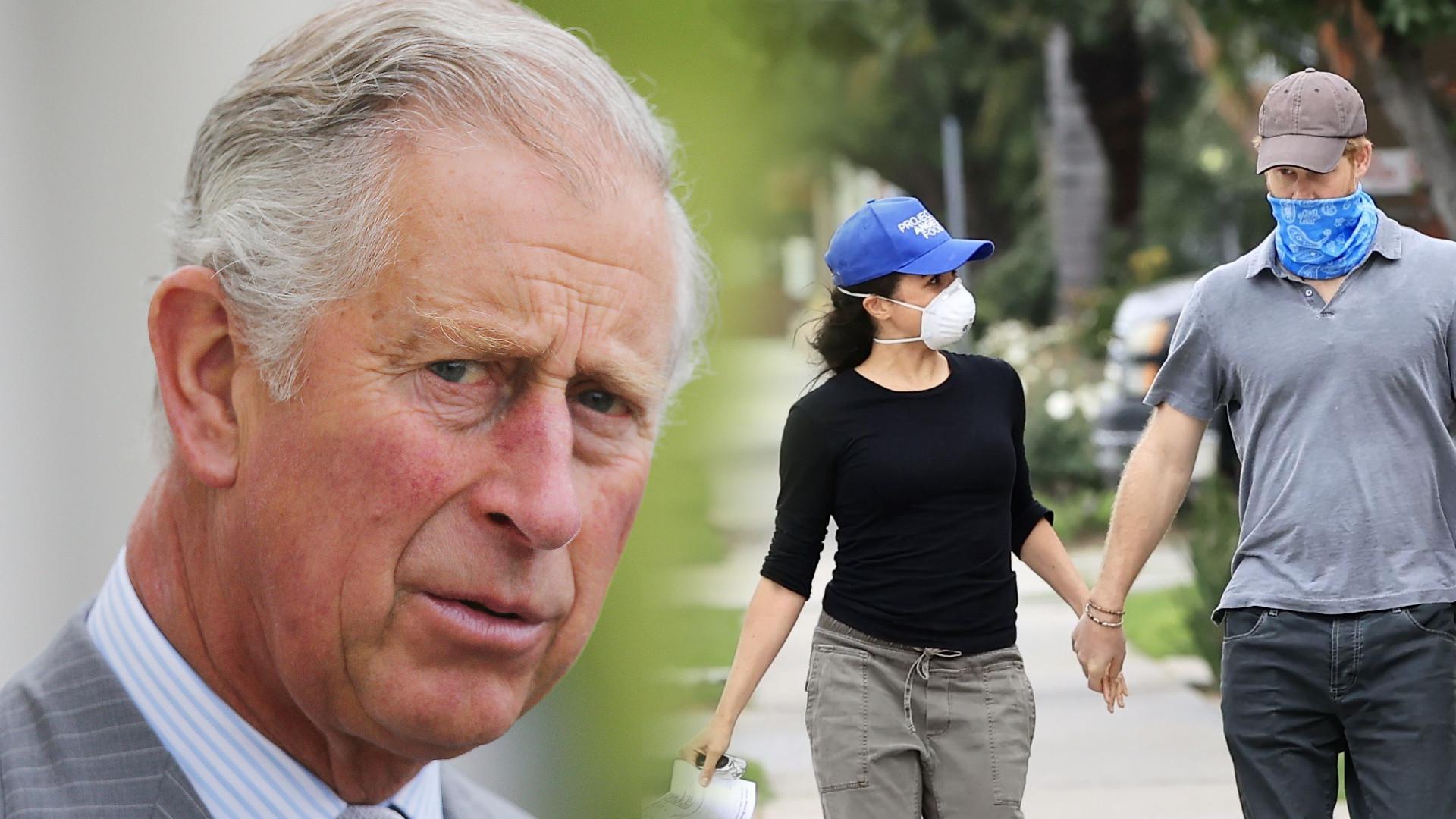 Książę Karol ma WIELKI żal do Meghan Markle. Oto, do czego może się posunąć