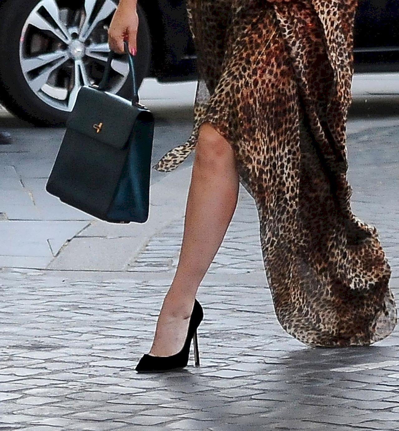 Lady Gaga w szpilkach